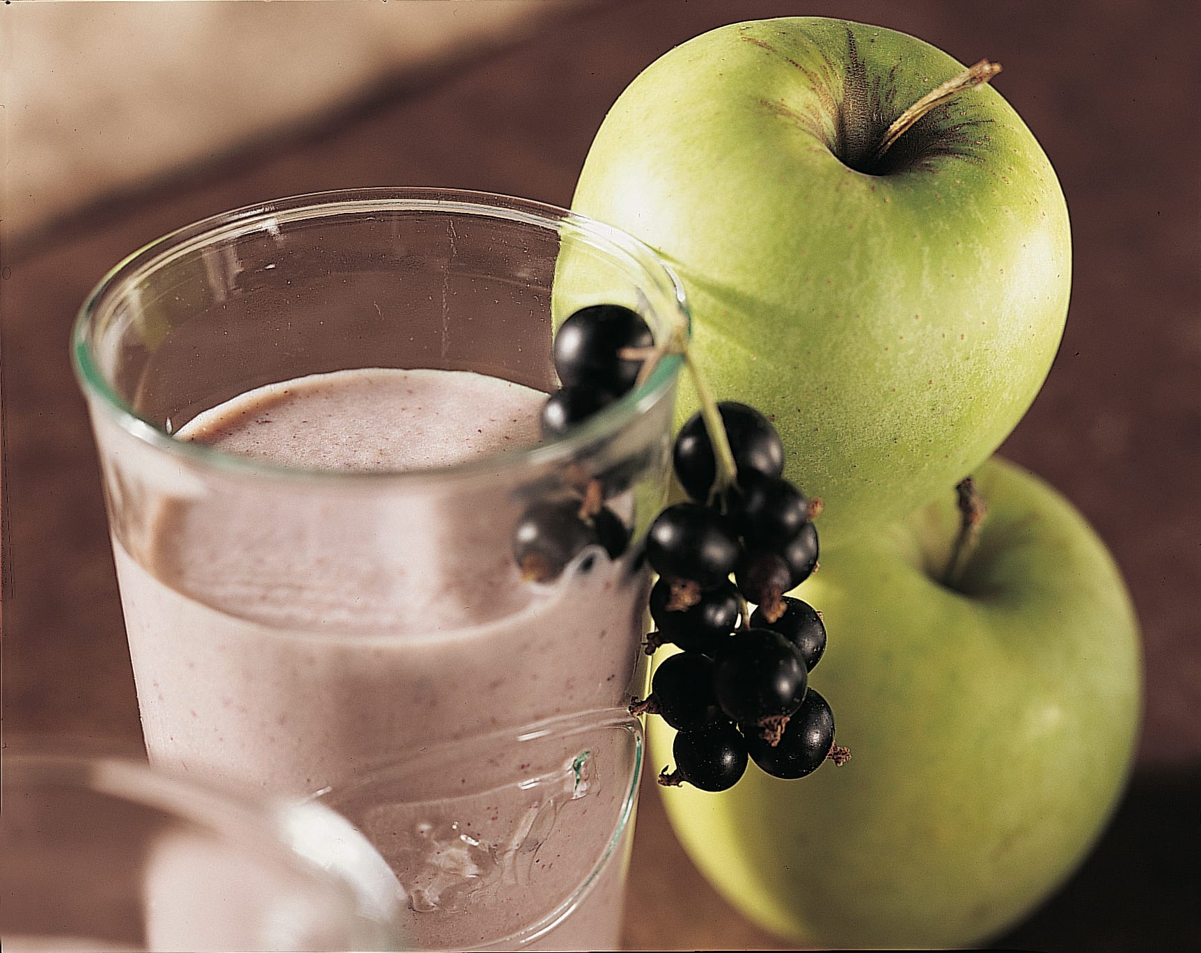 Cassis-Apfel-Milch
