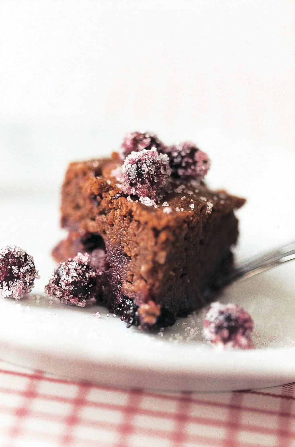 Cassis-Brownies