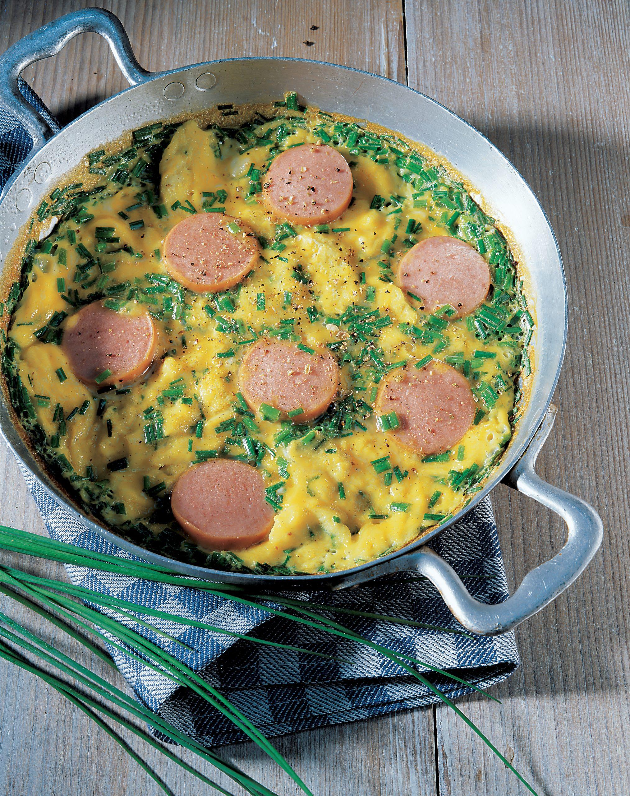 Cervelat-Omelette