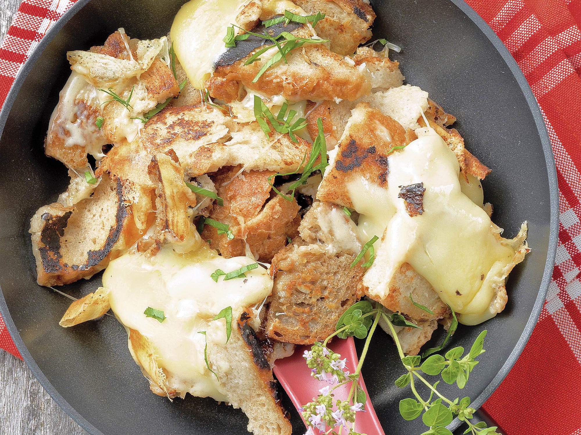 Chäsgezank (croûtes dorées au fromage)