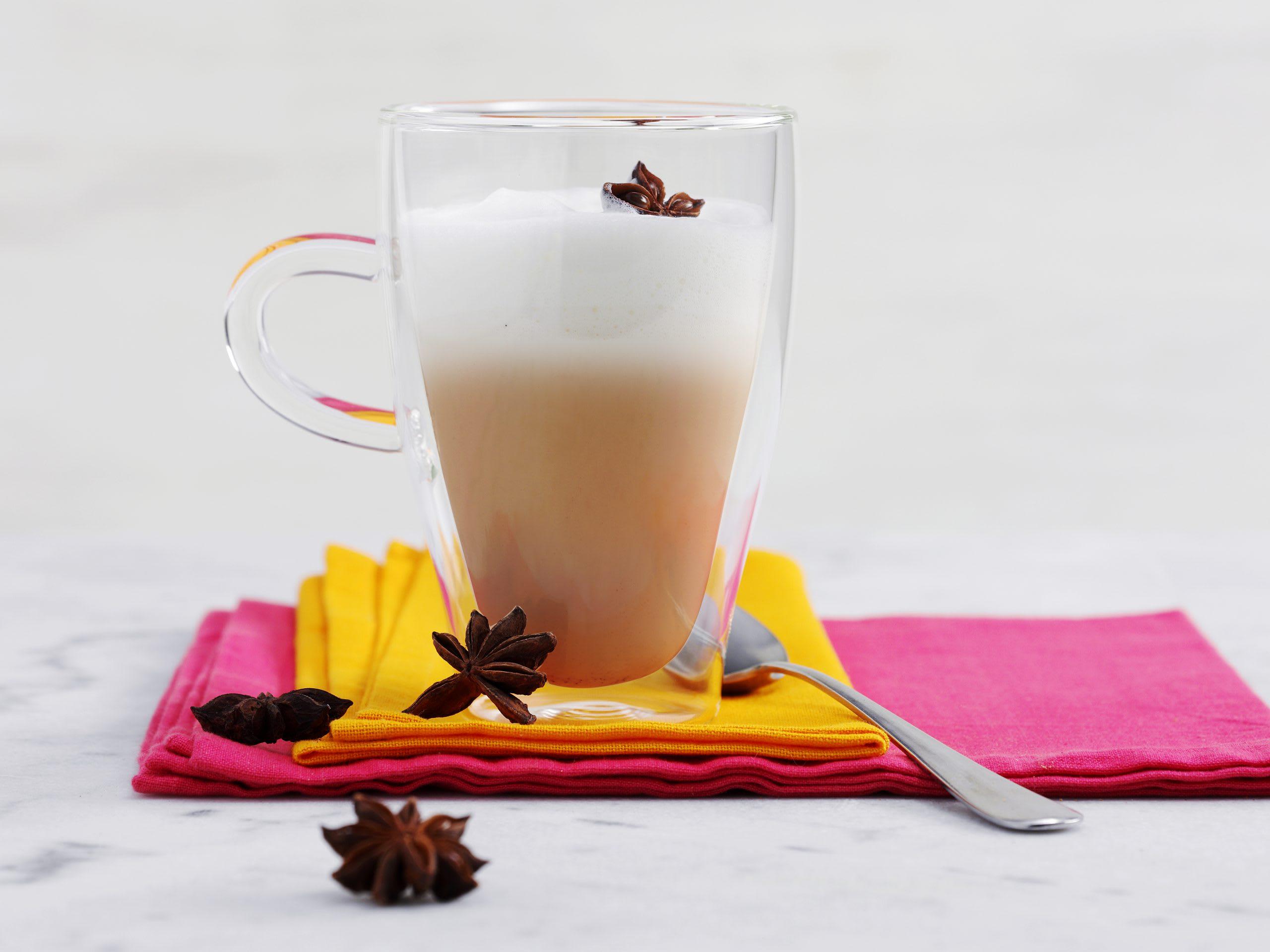 Chai latte (avec sachets de thé chai)