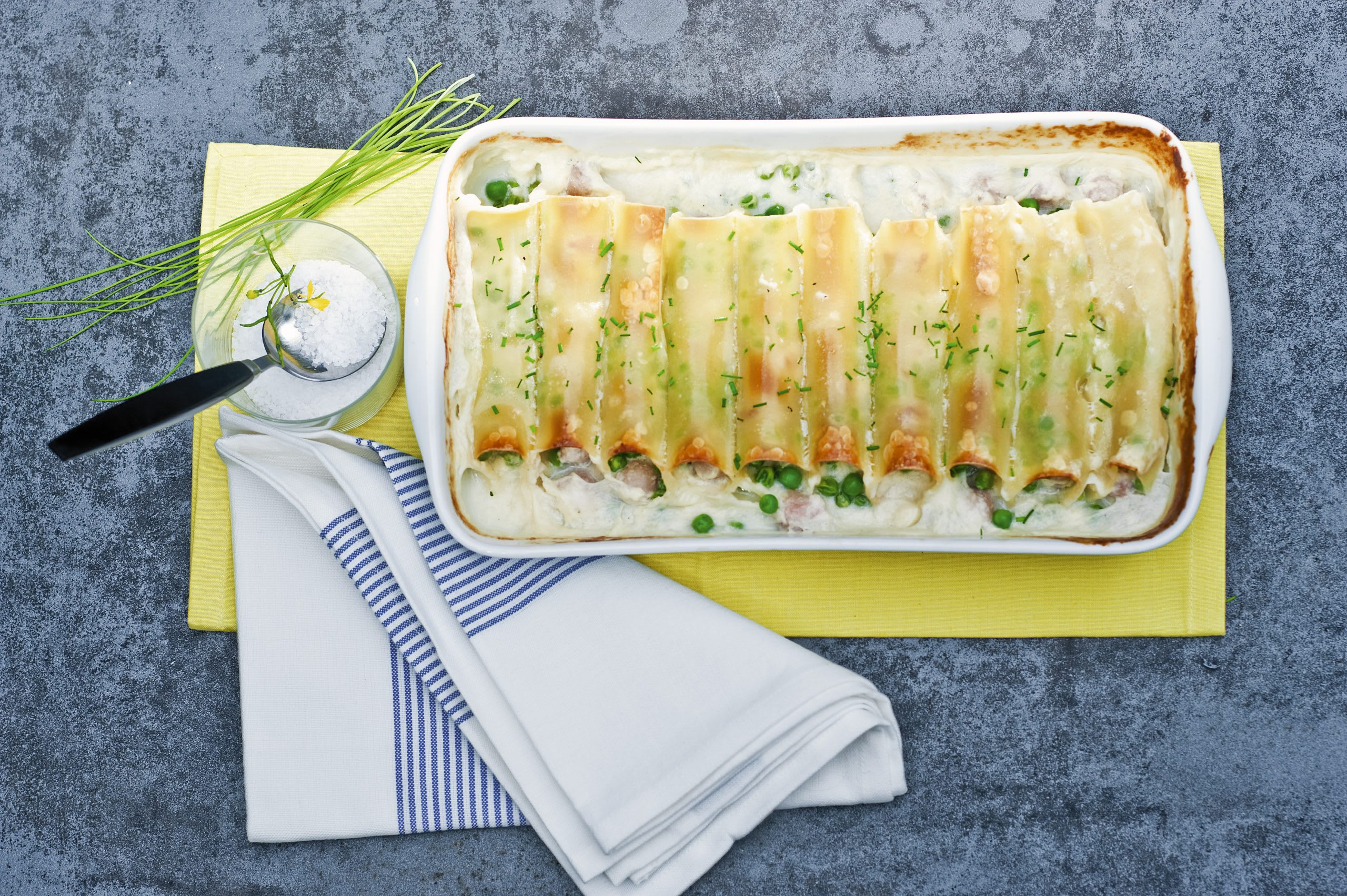 Cannelloni aux boulettes de viande