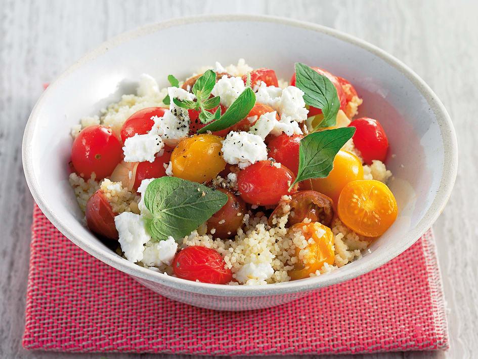 Couscous aux tomates cerises