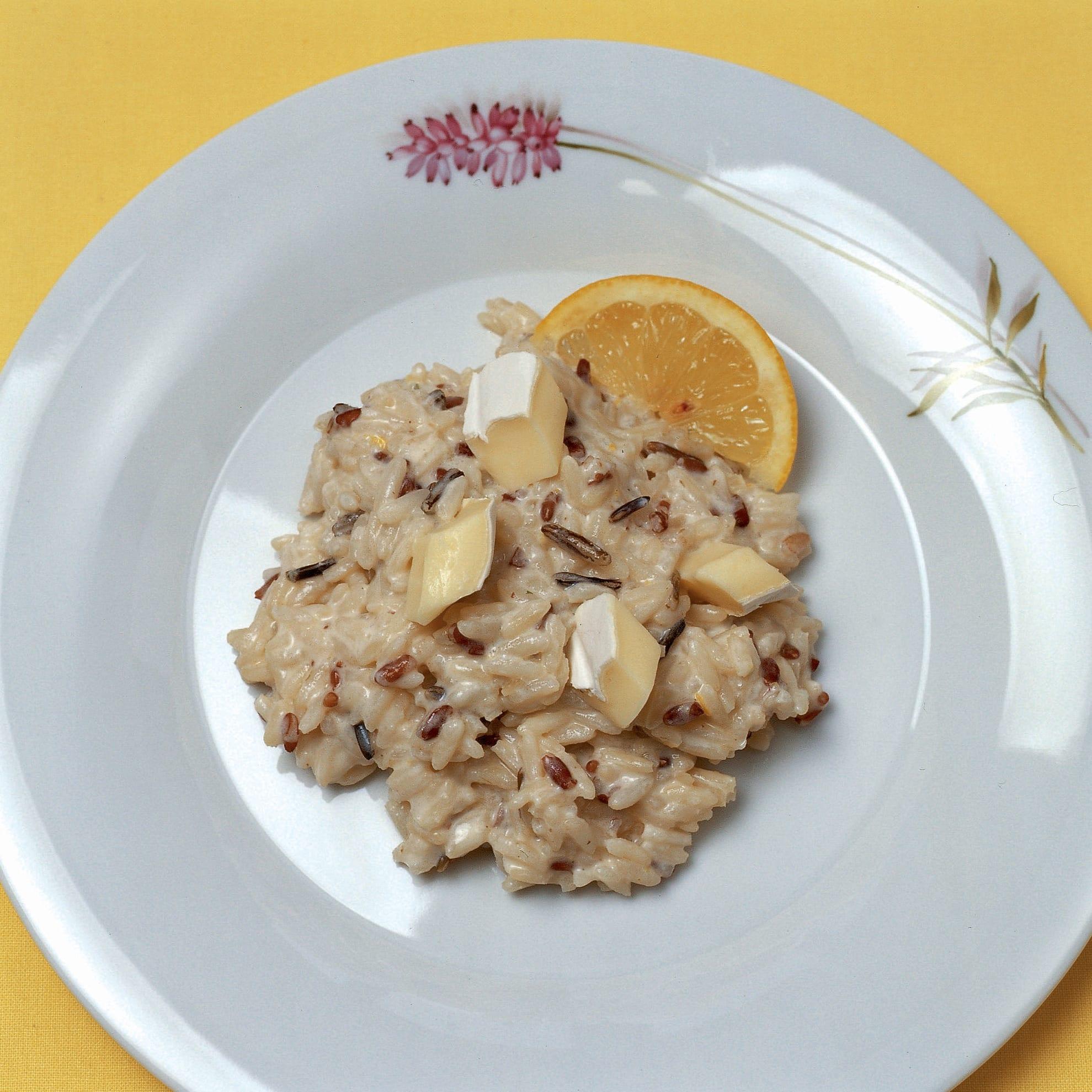 Crème-fraîche-Zitronen-Risotto