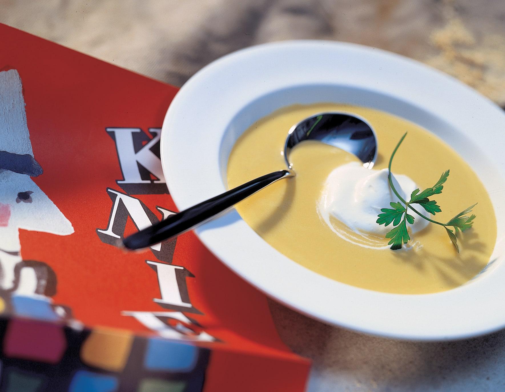 Crèmesuppe von Pfälzerrüebli