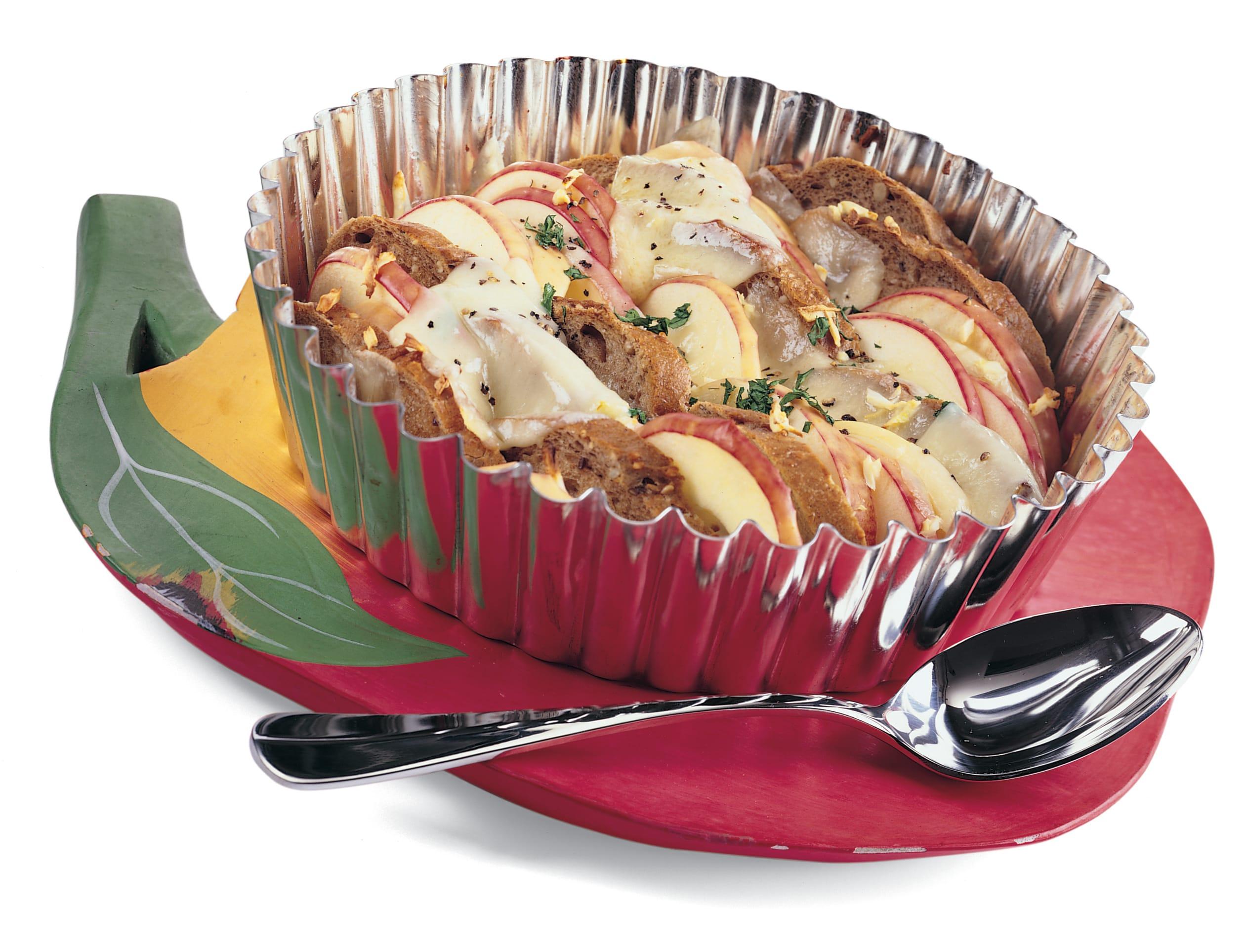 Crostata mit Pfeffer-Raclettekäse