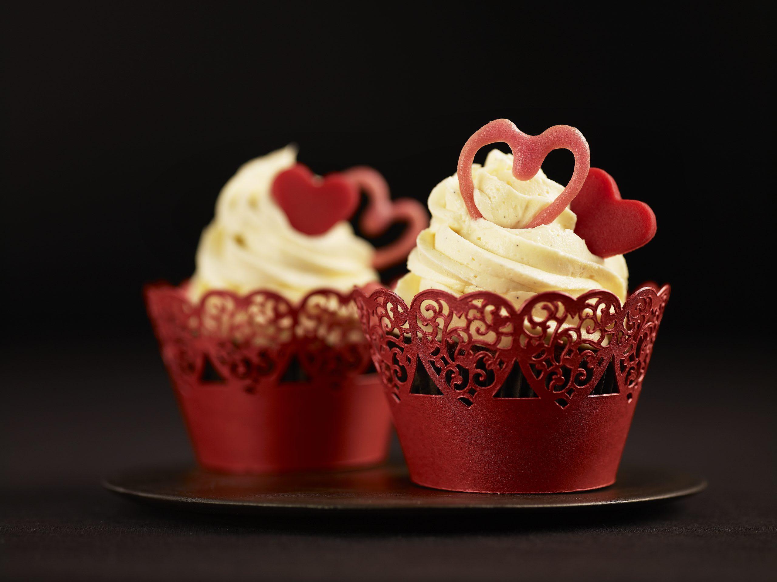 Cupcakes coeur