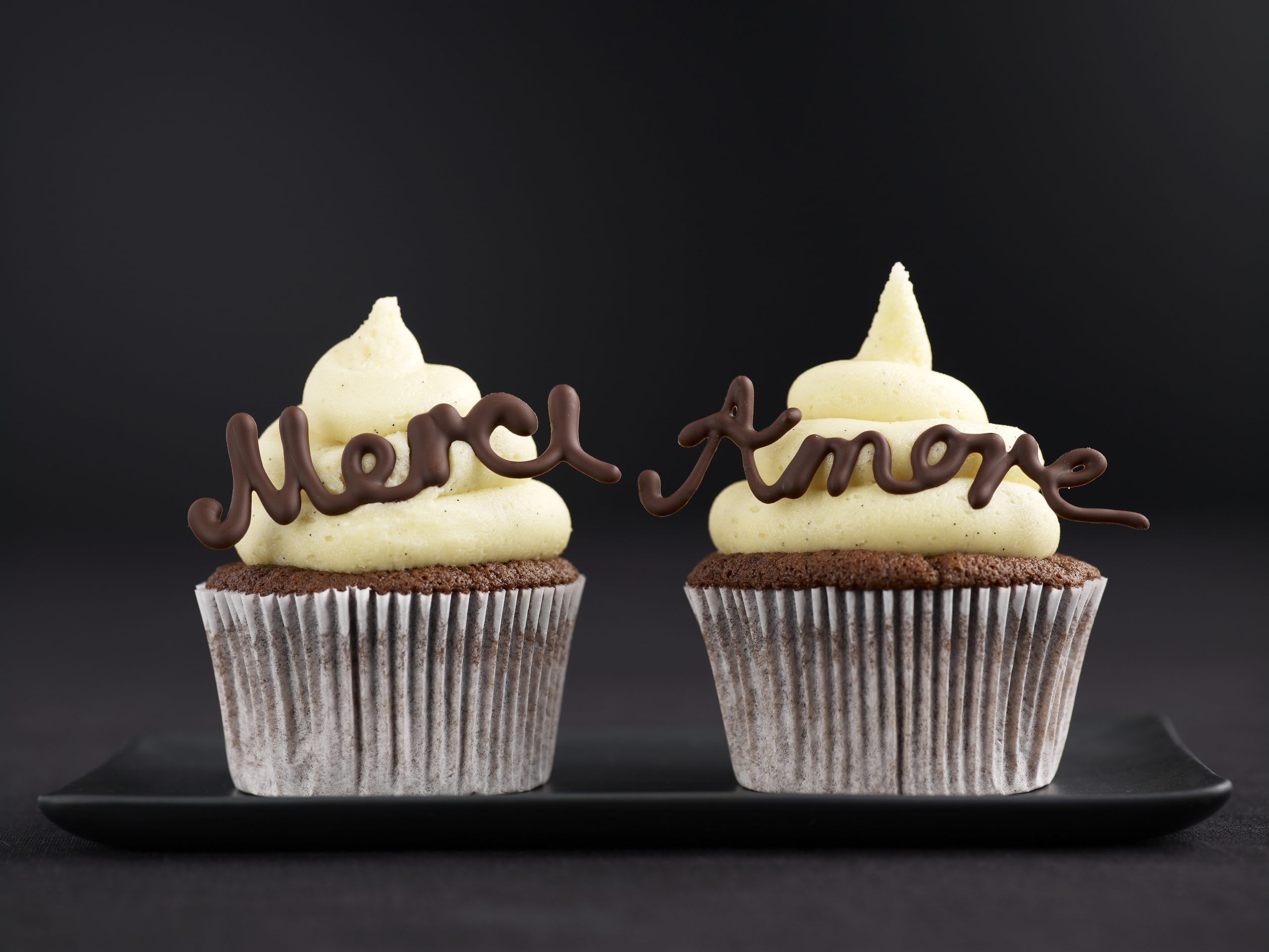 Cupcake Merci & Amore