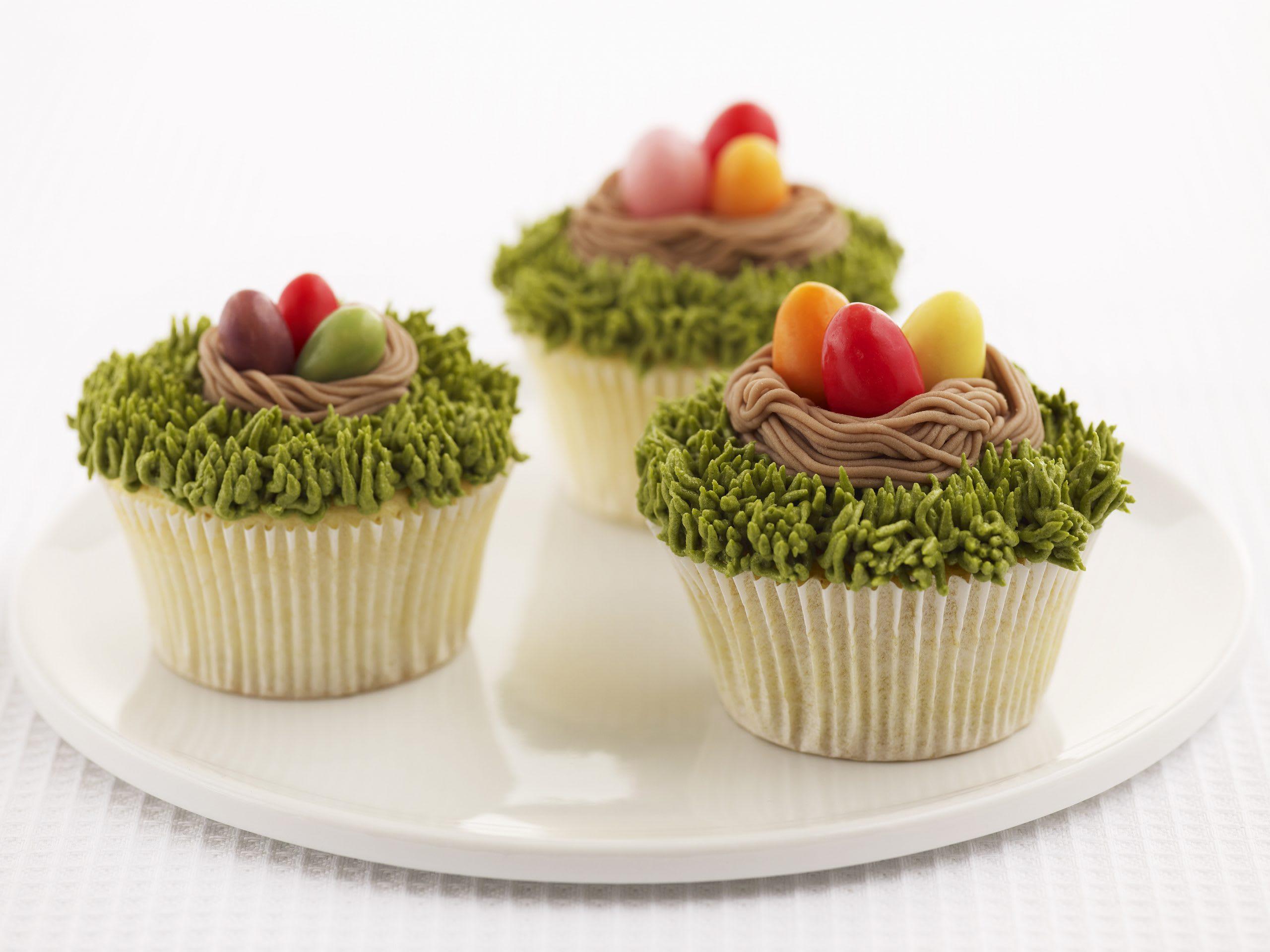 Cupcake Oster-Nestli