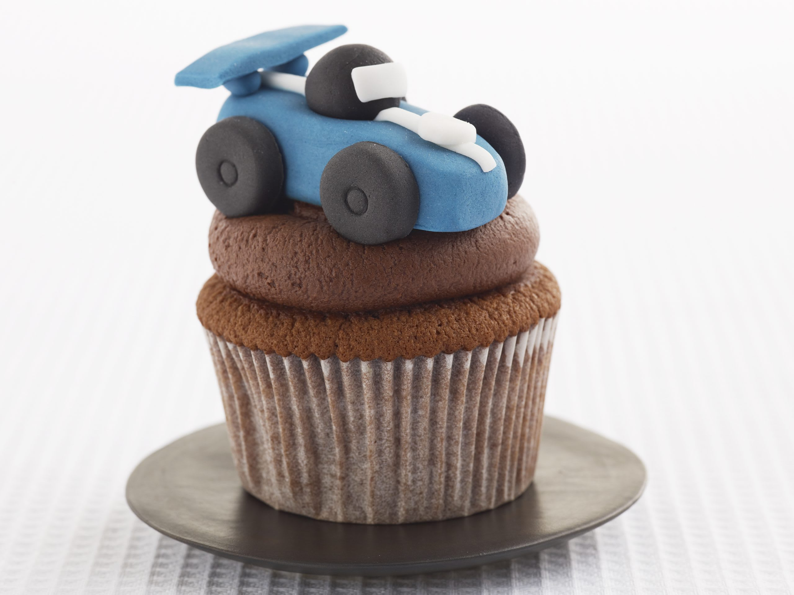 Cupcakes voiture de course