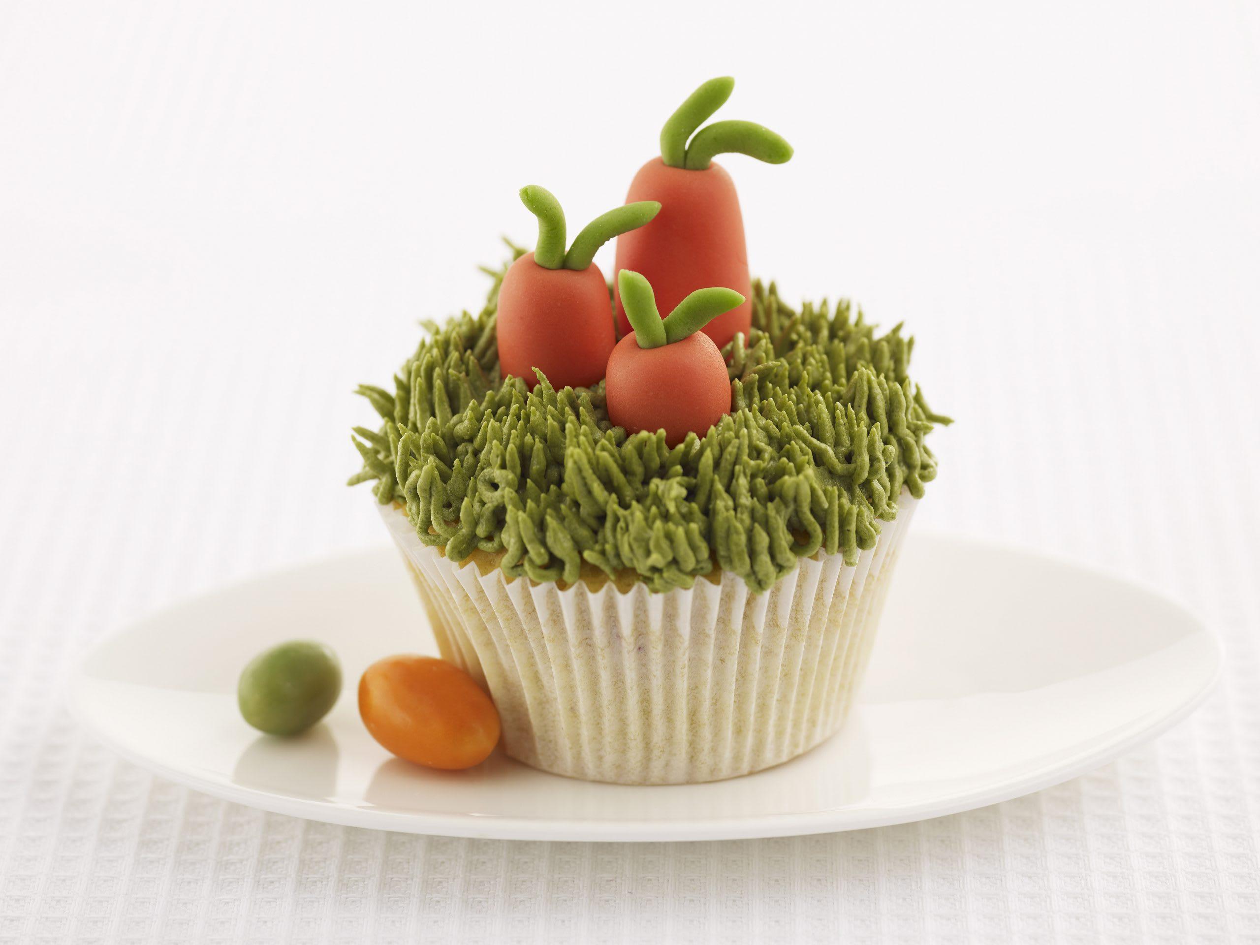Cupcakes carotte