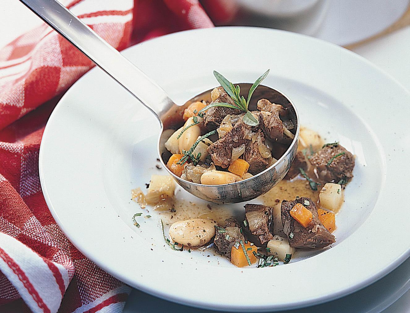 Curry-Bohnen-Gulasch