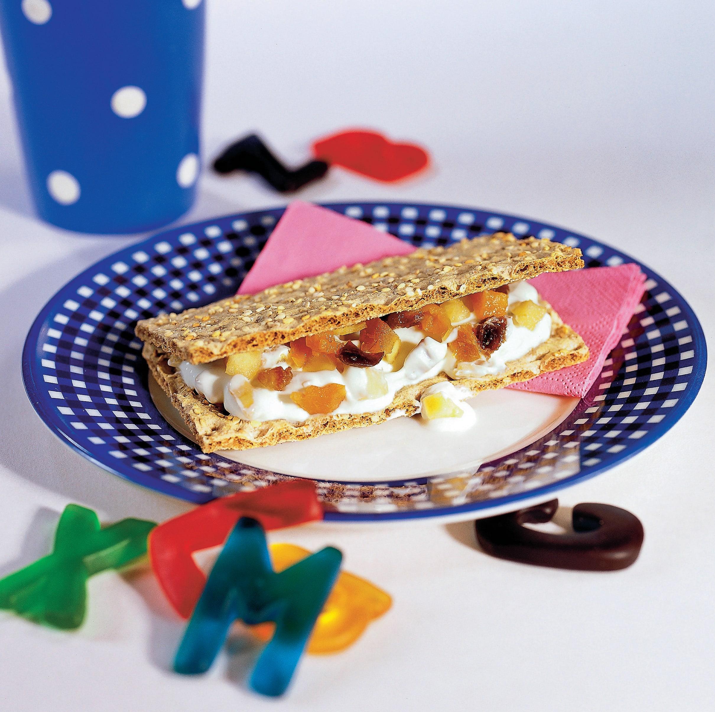 Dörrfrucht-Sandwich