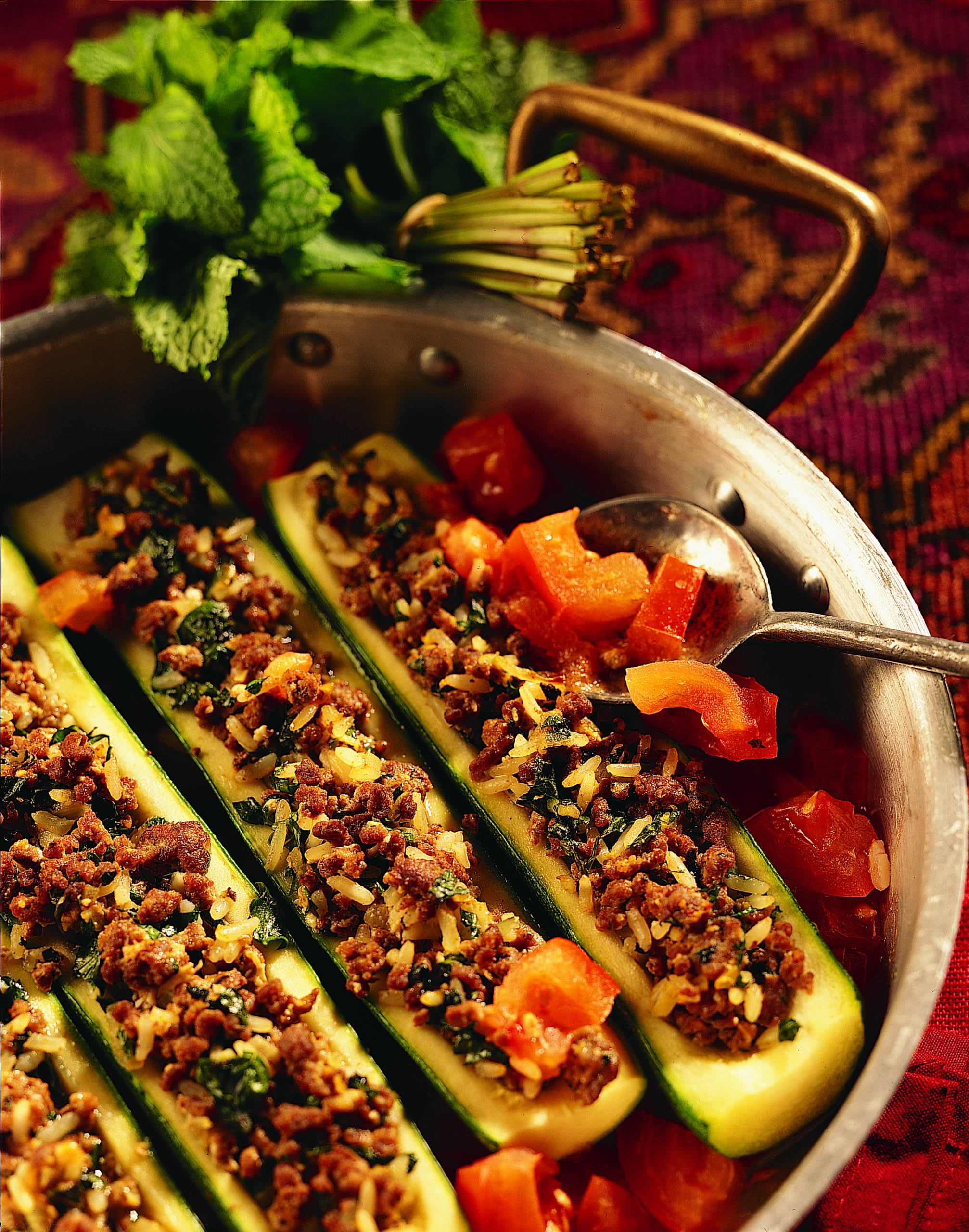 Dulma (courgettes farcies)