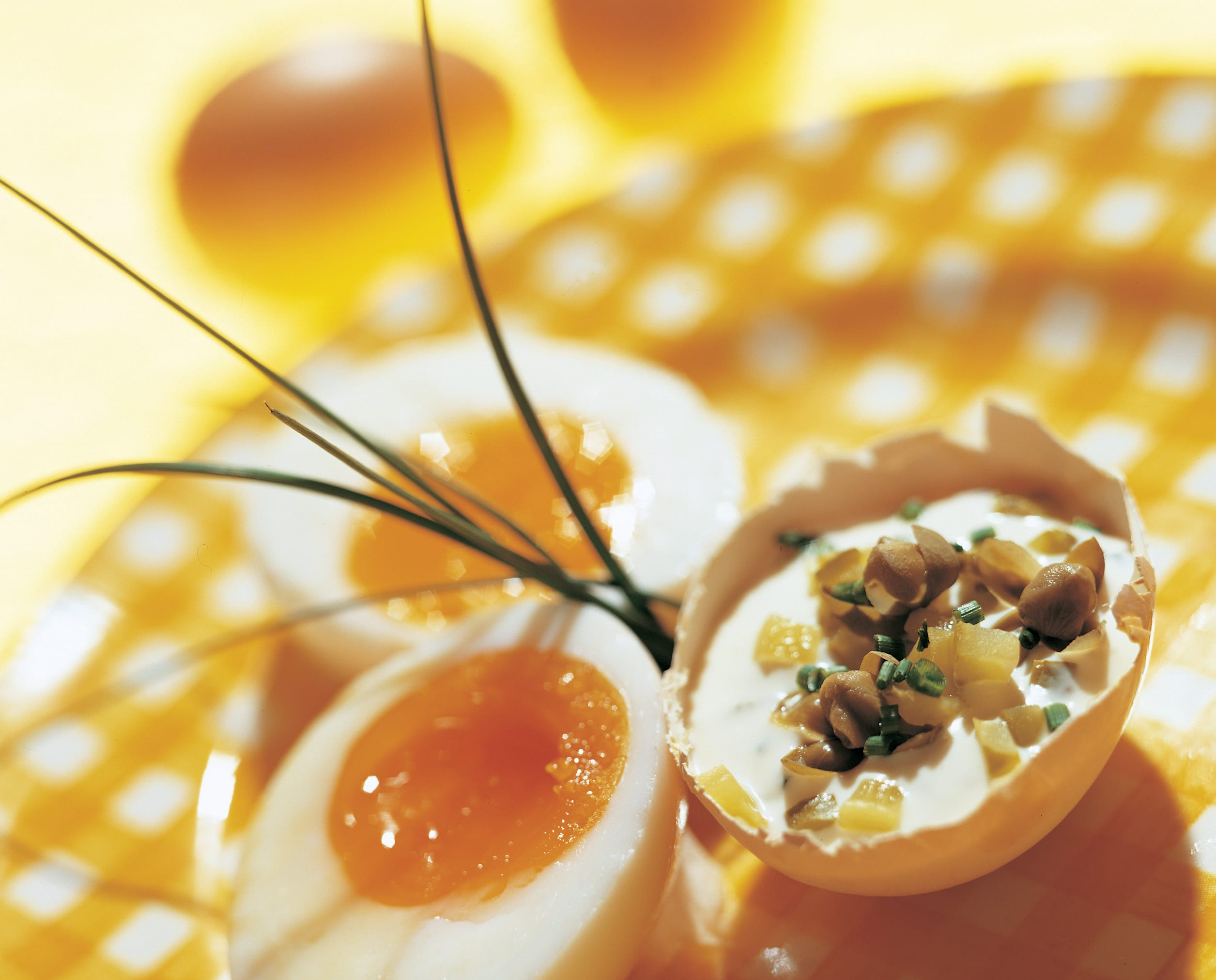 Oeufs mollets en sauce