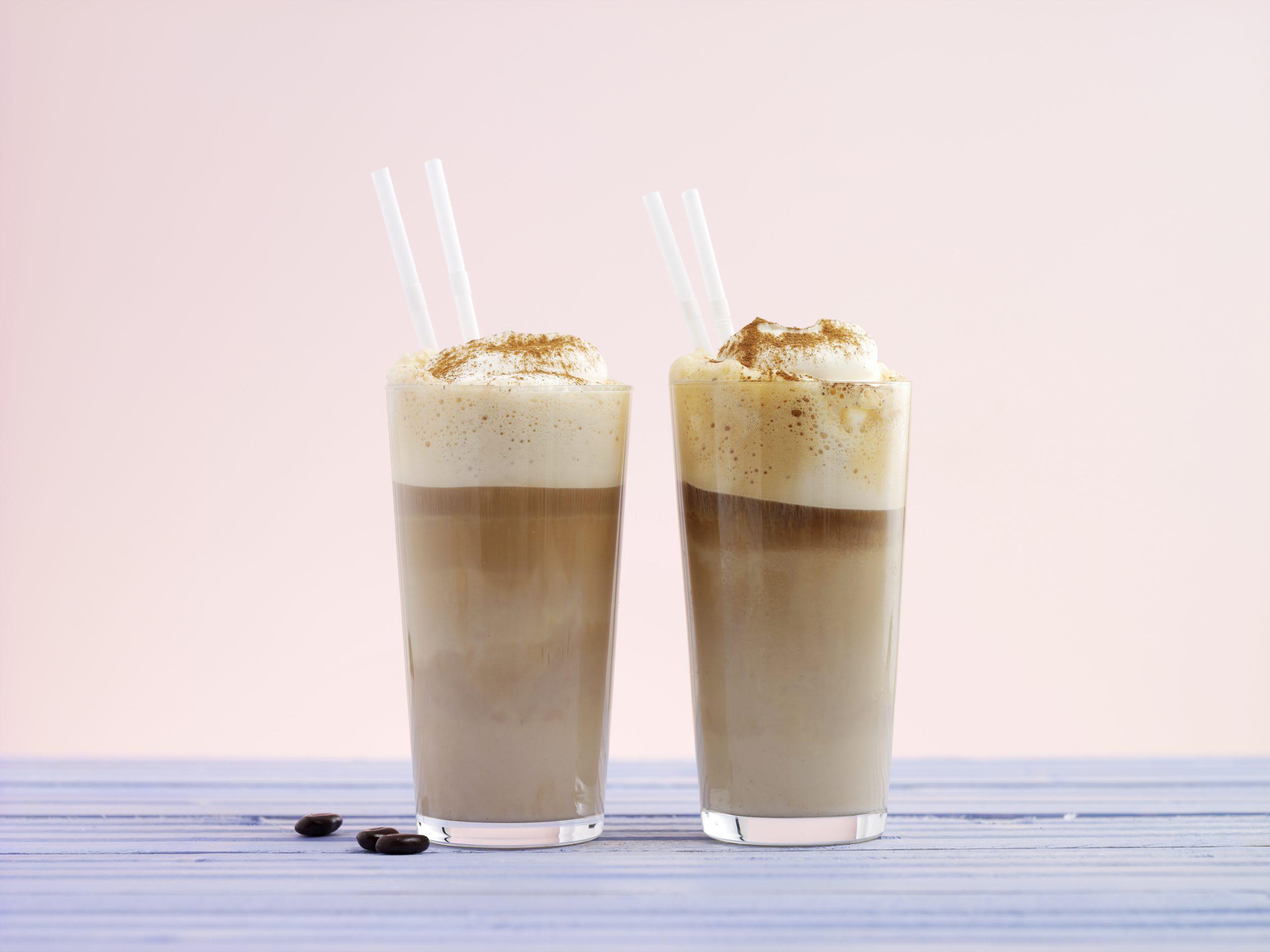 Milkshake café glacé