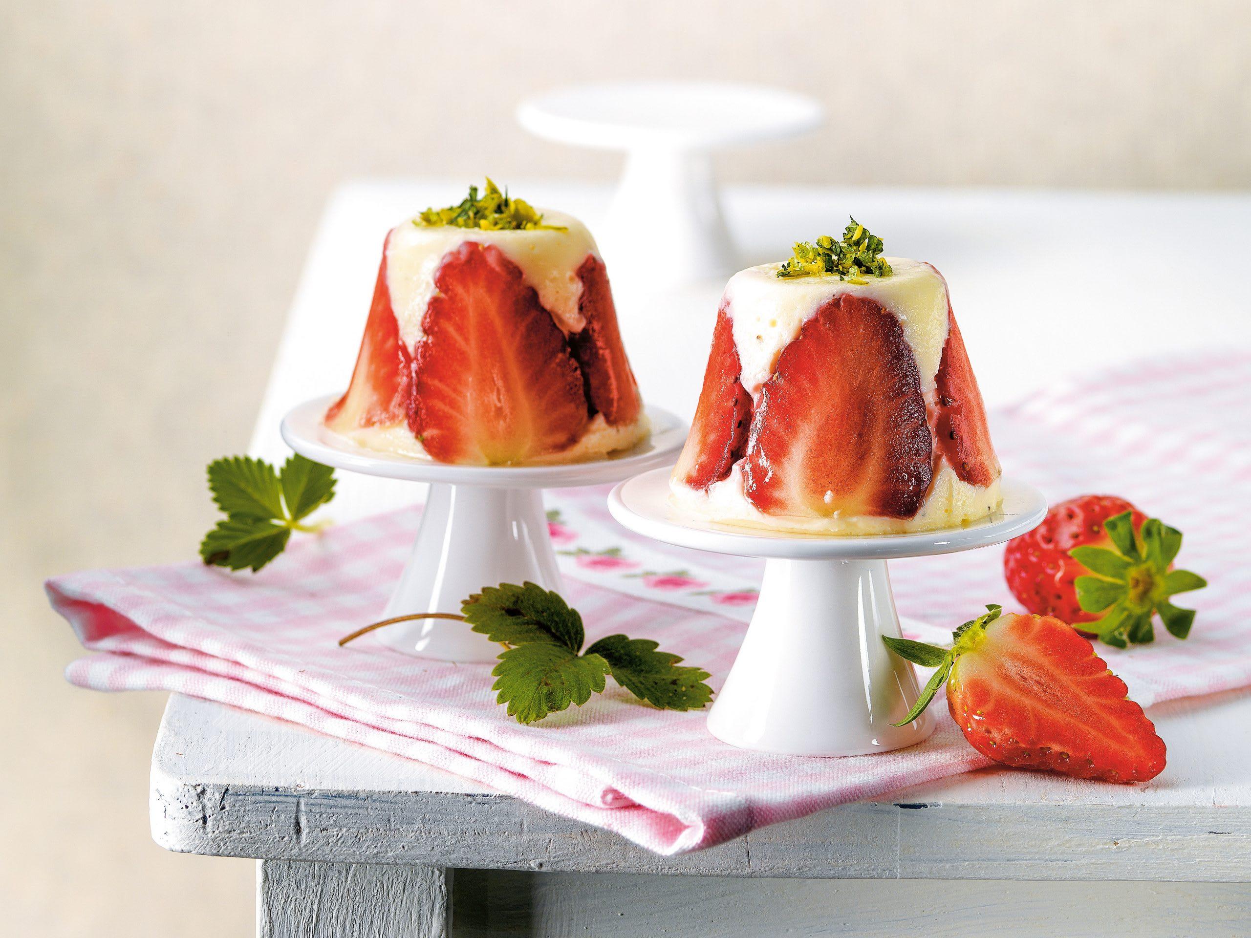 Erdbeer-Joghurt-Bavarois