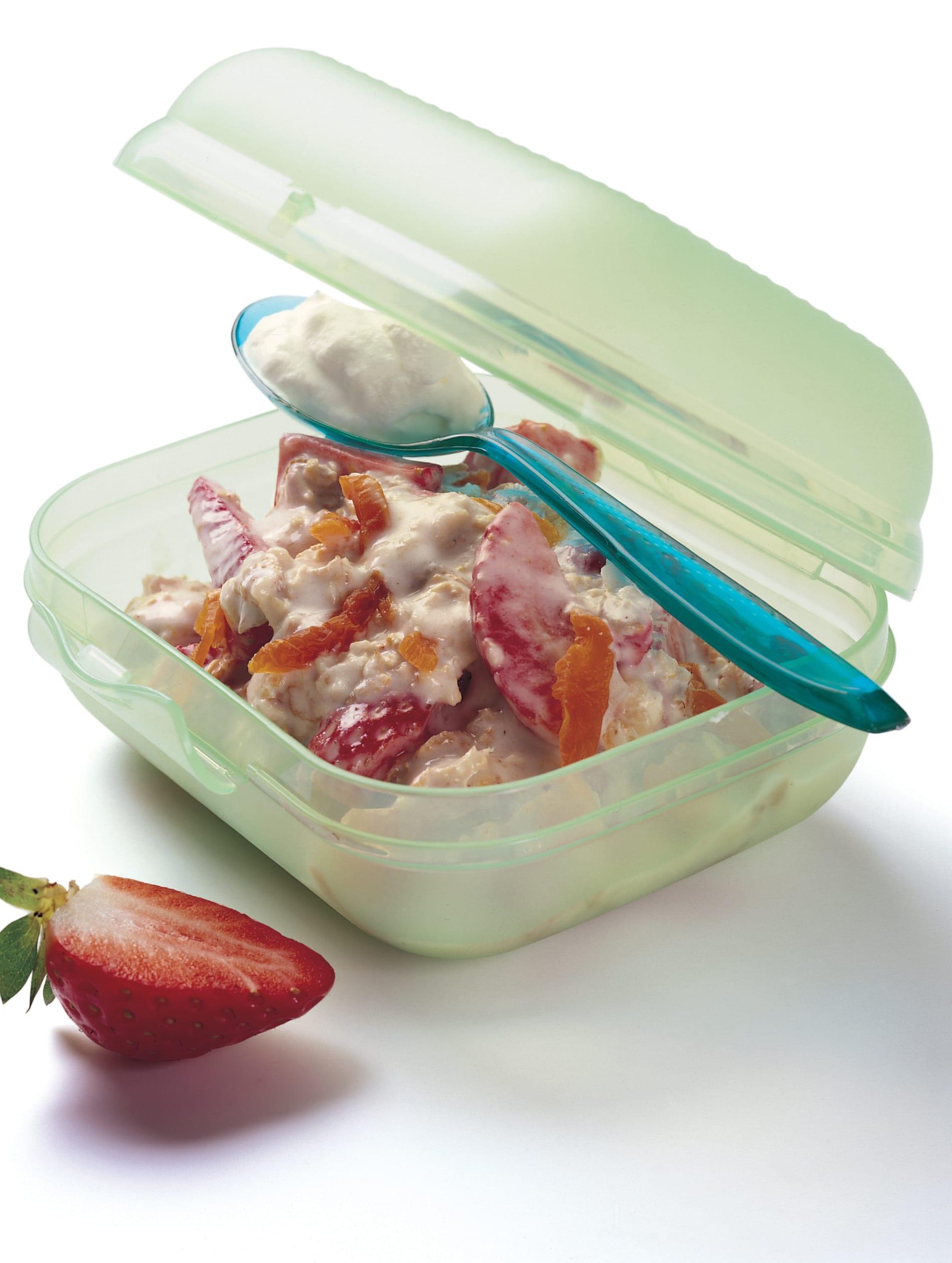 Erdbeer-Müesli mit Buttermilch