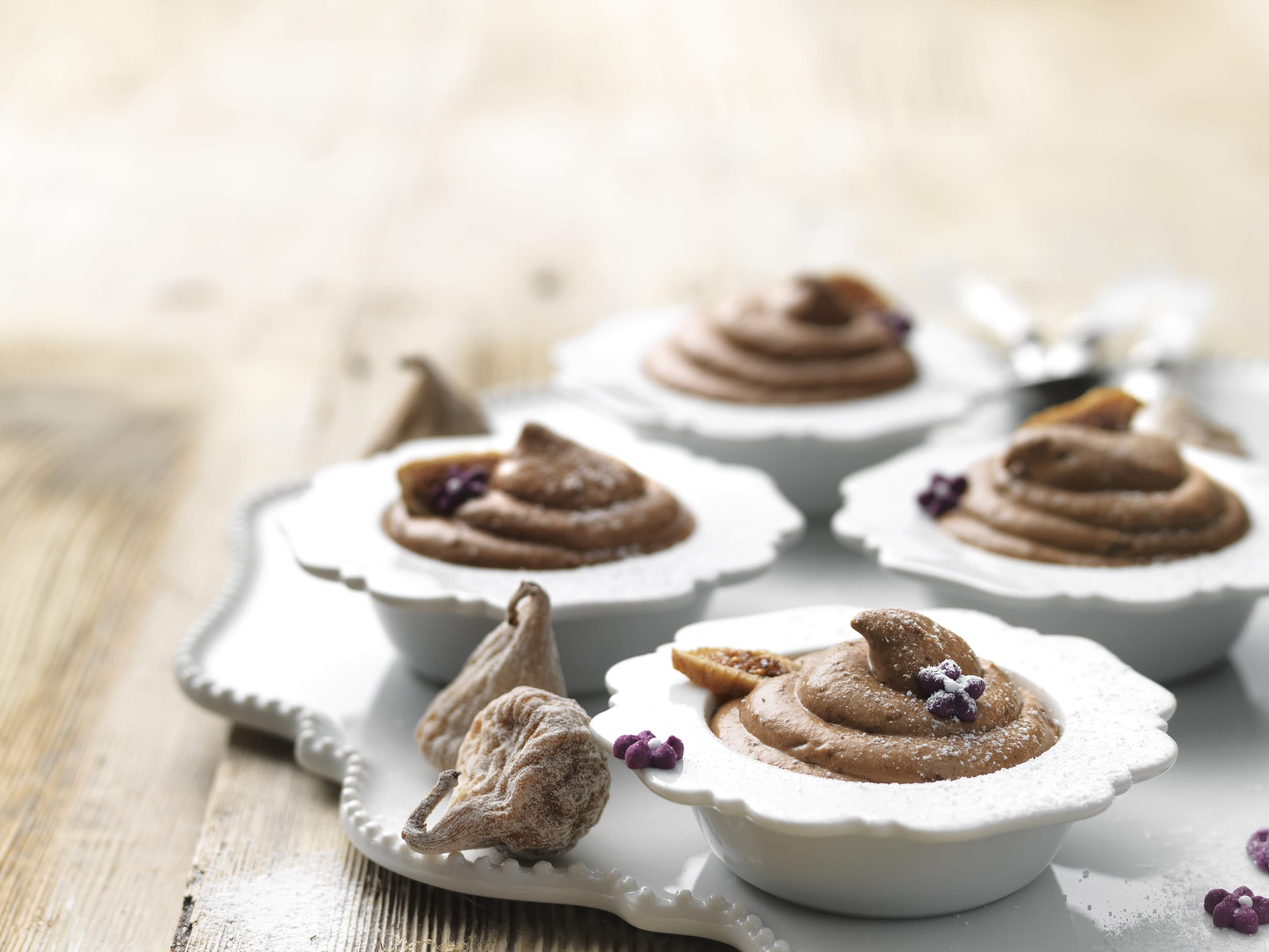 Mousse chocolat-figues