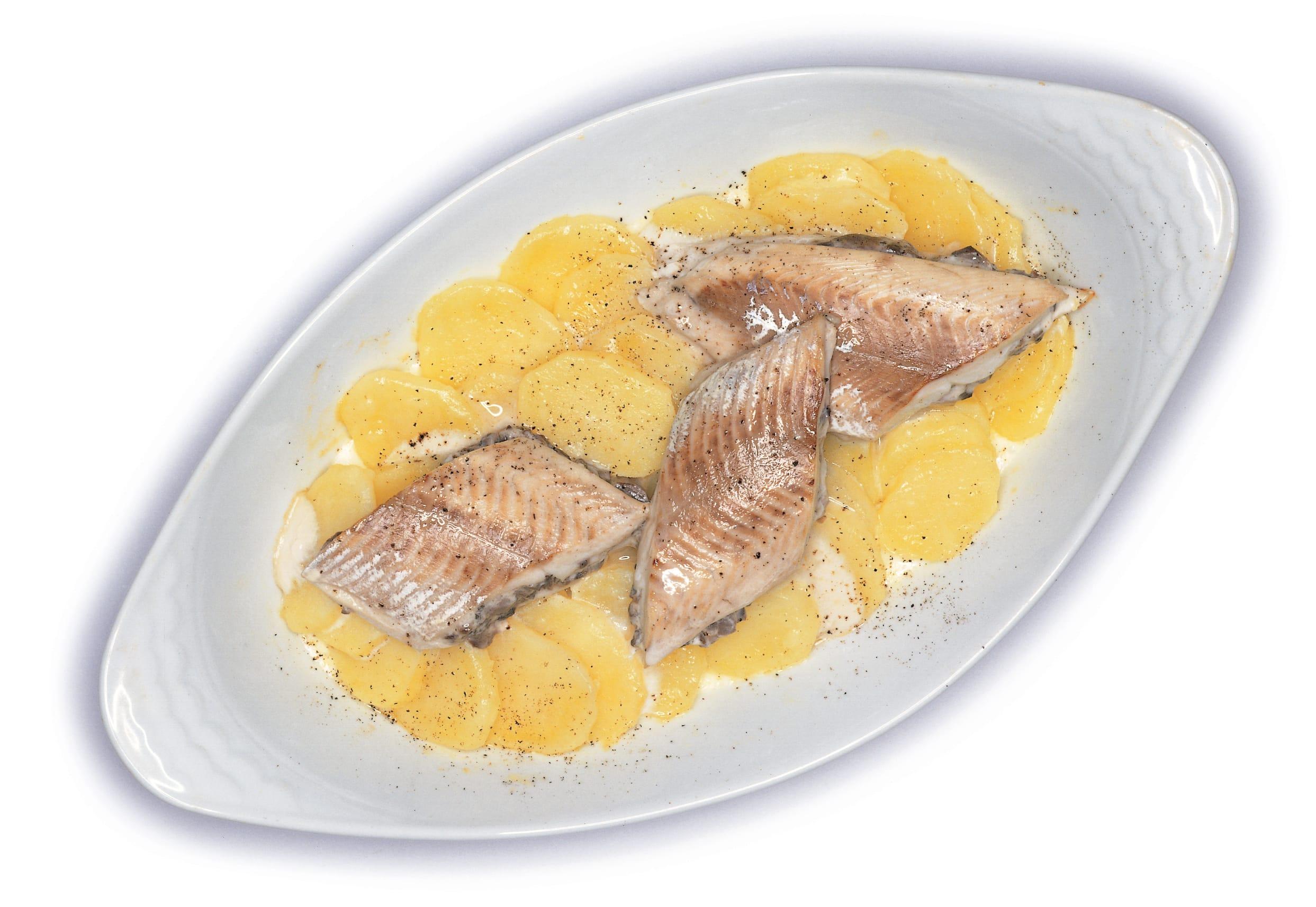 Felchenfilets mit Champignons-Frischkäse-Füllung