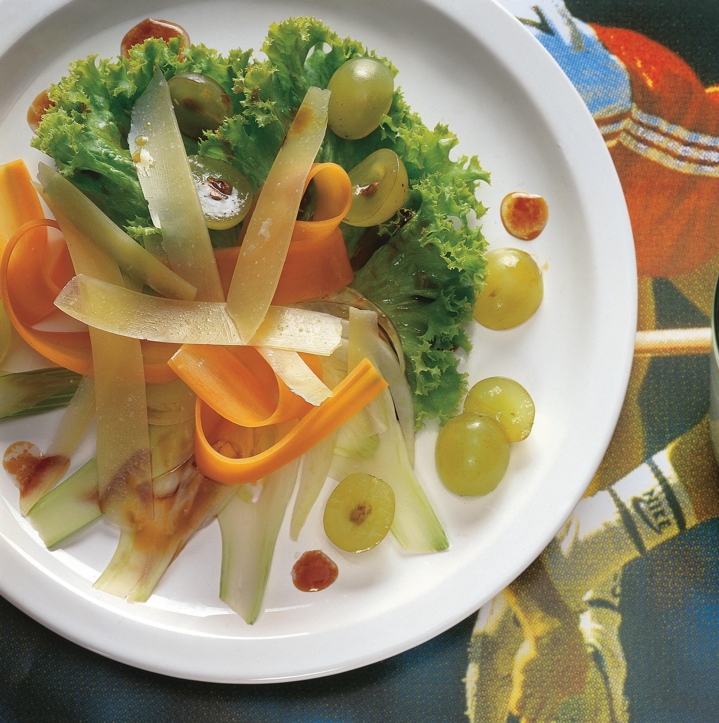 Salade de fenouil aux carottes et au Sbrinz