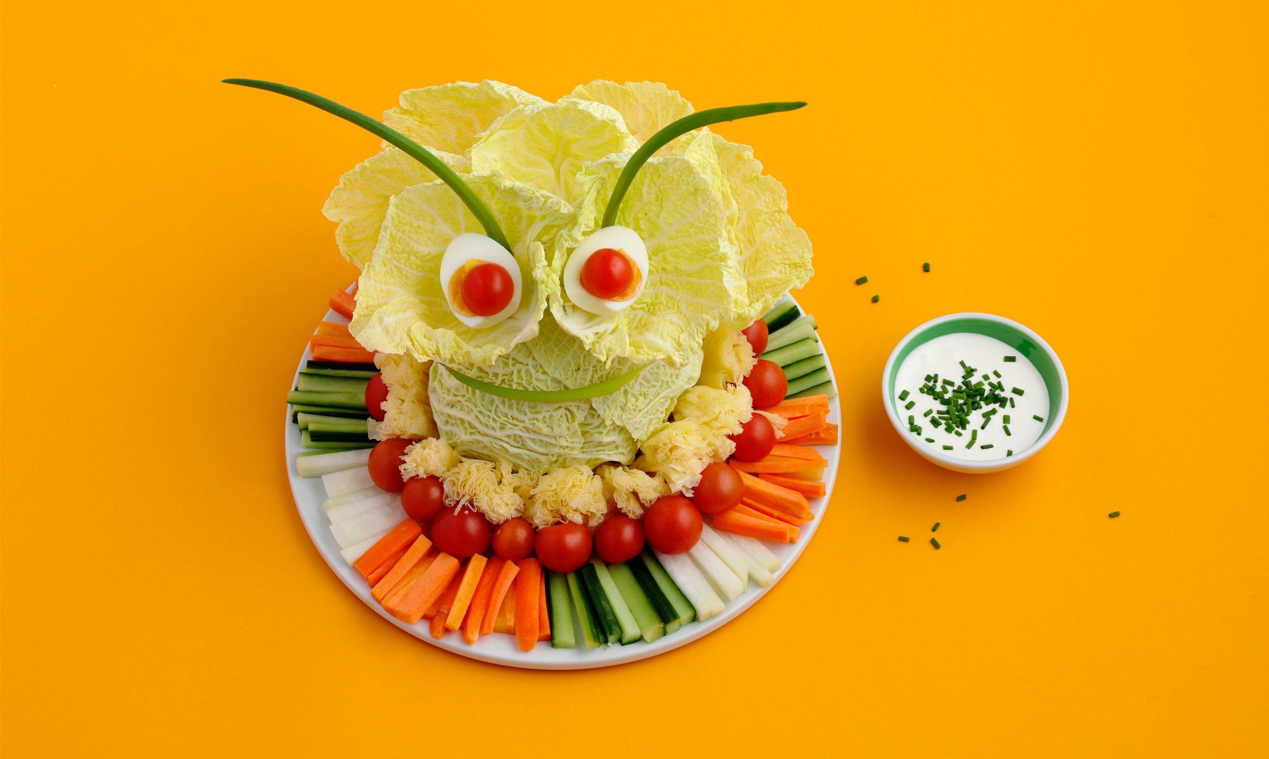 Fingerfood-Gemüse (Kindergeburtstag)