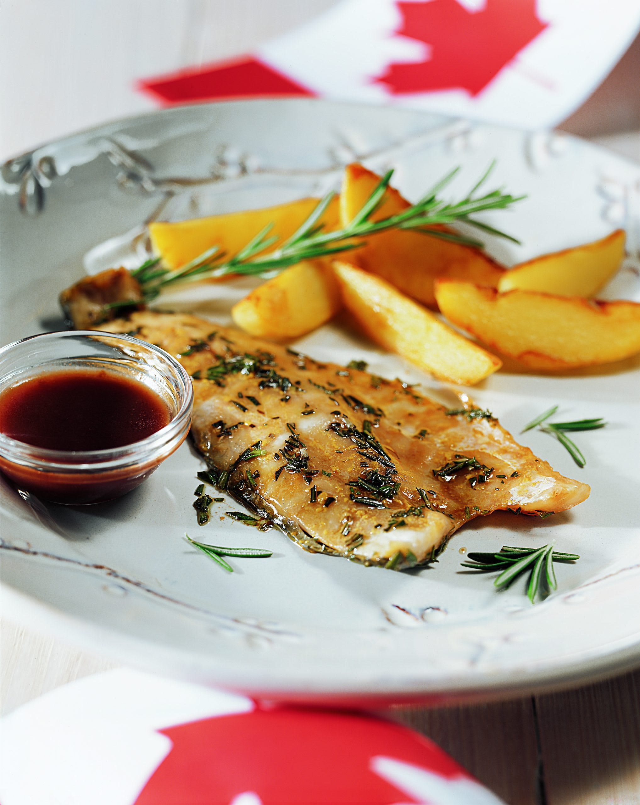 Fish with Red Wine Sauce (Fisch mit Rotweinsauce)