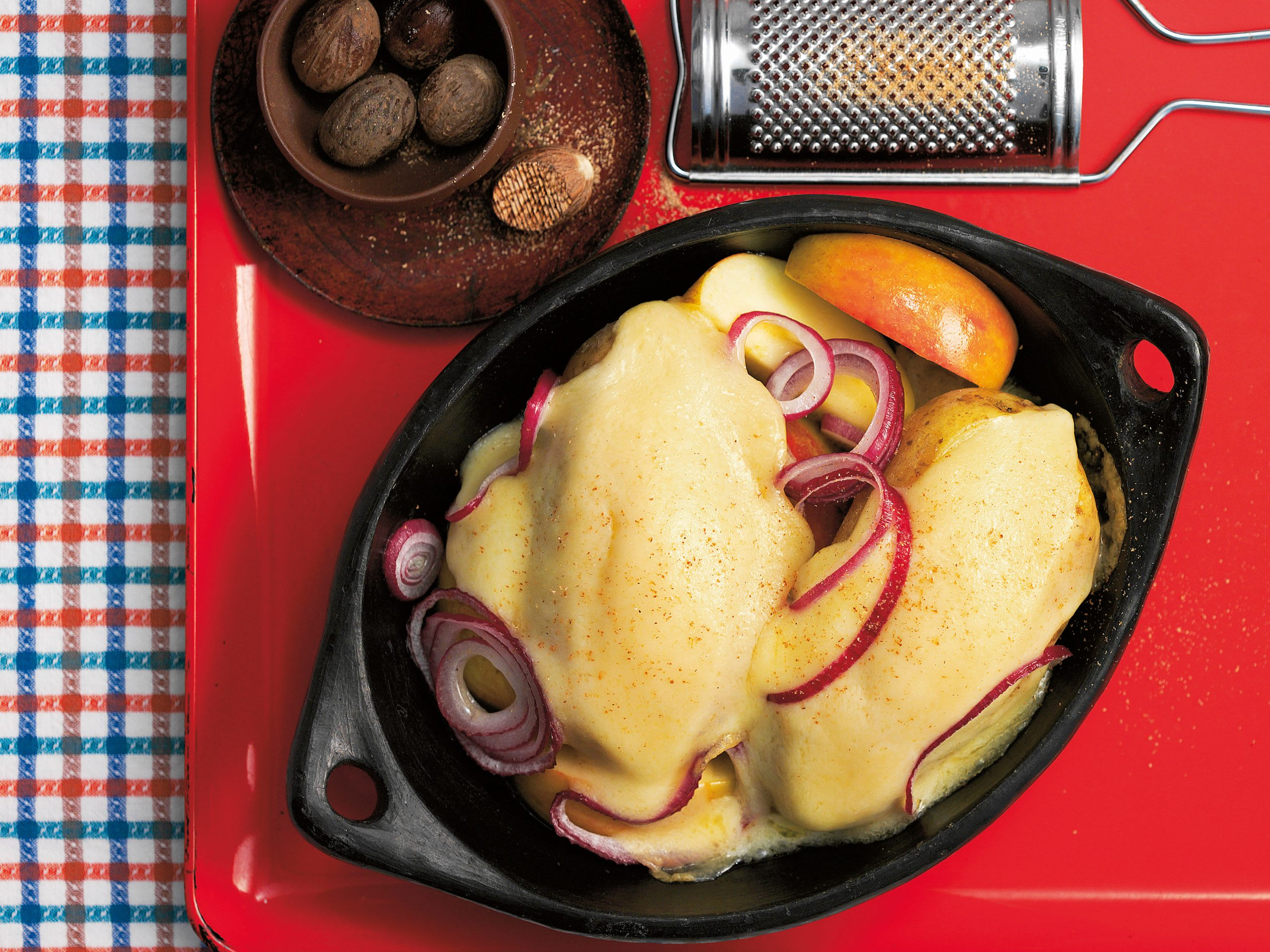 Pommes de terre à la fondue