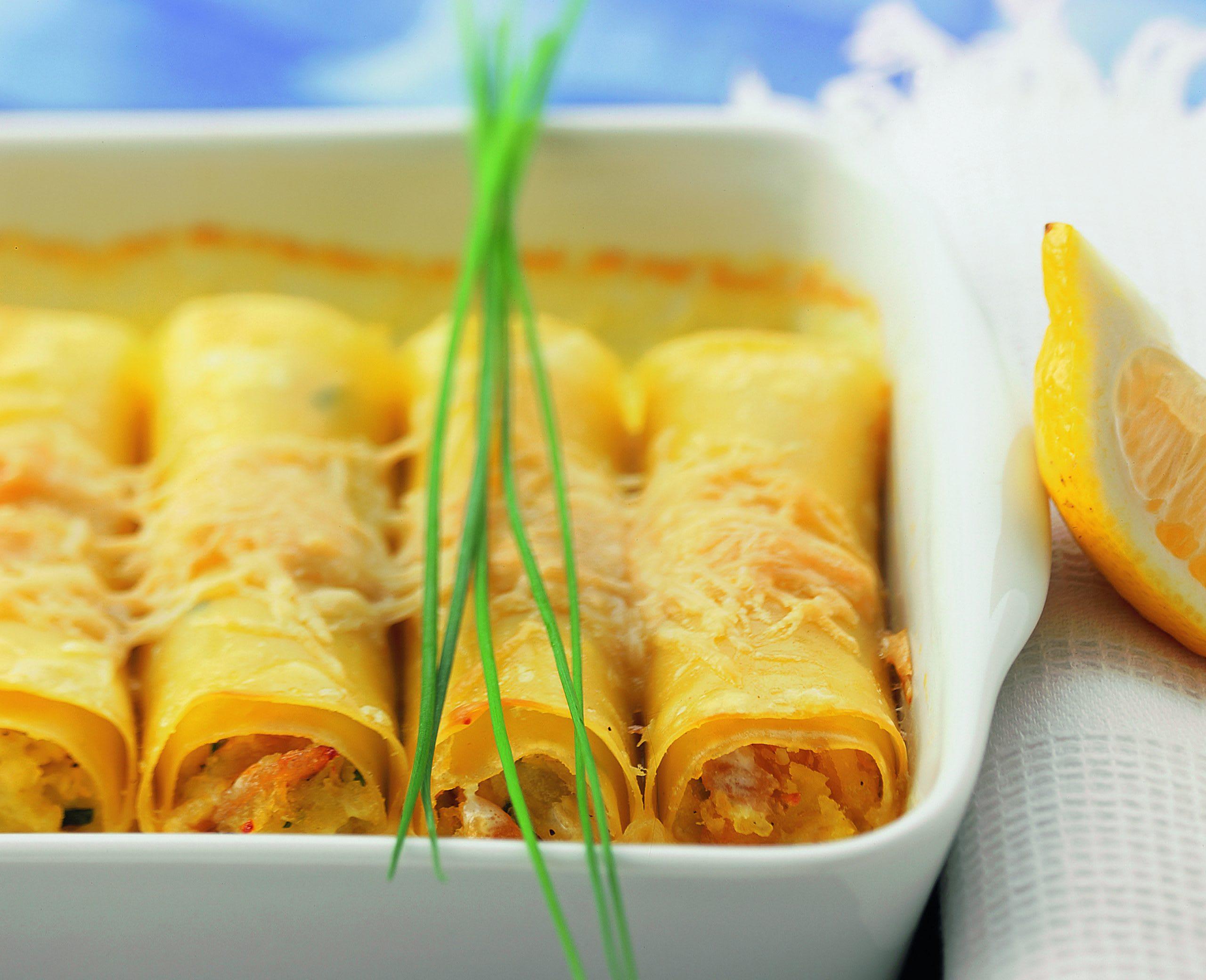 Forellen-Cannelloni