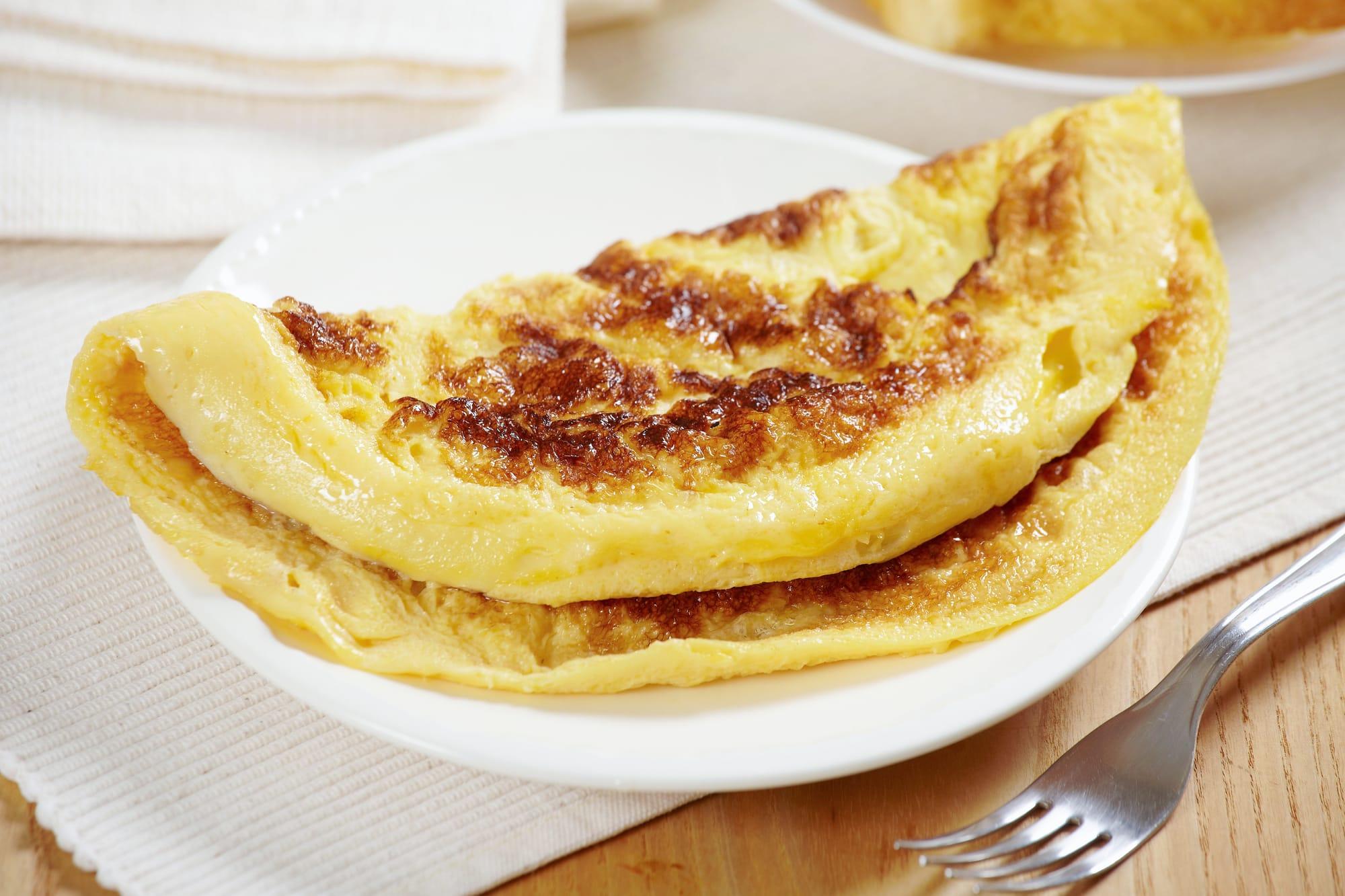 Französische Omelette