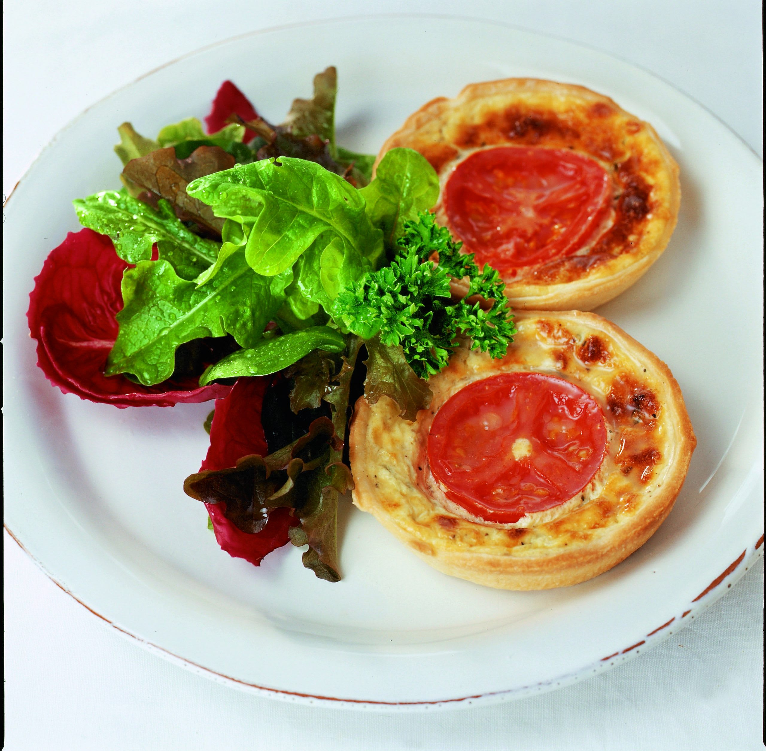 Frischkäse-Kräuter-Tartelettes