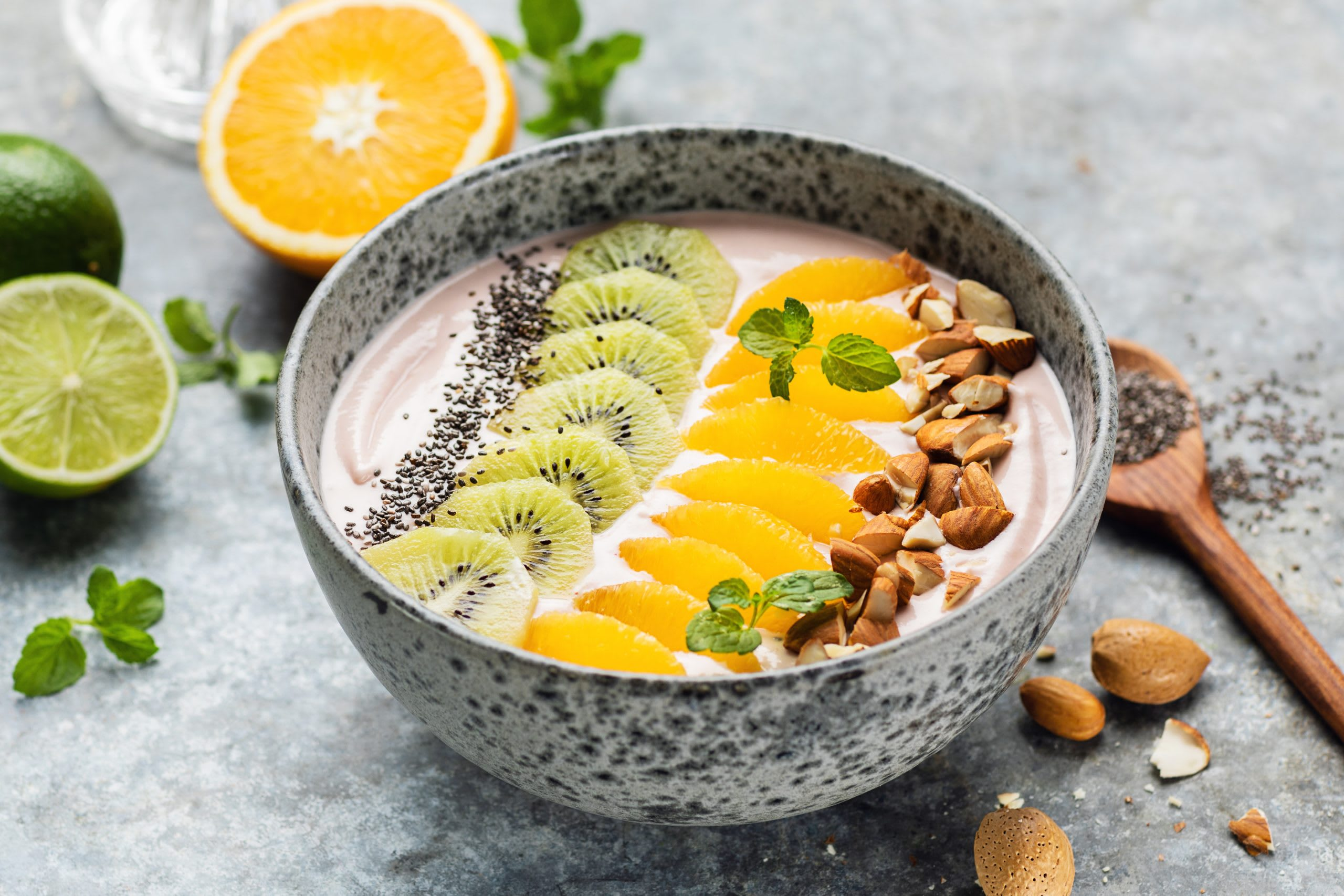 Smoothie bowl glacé