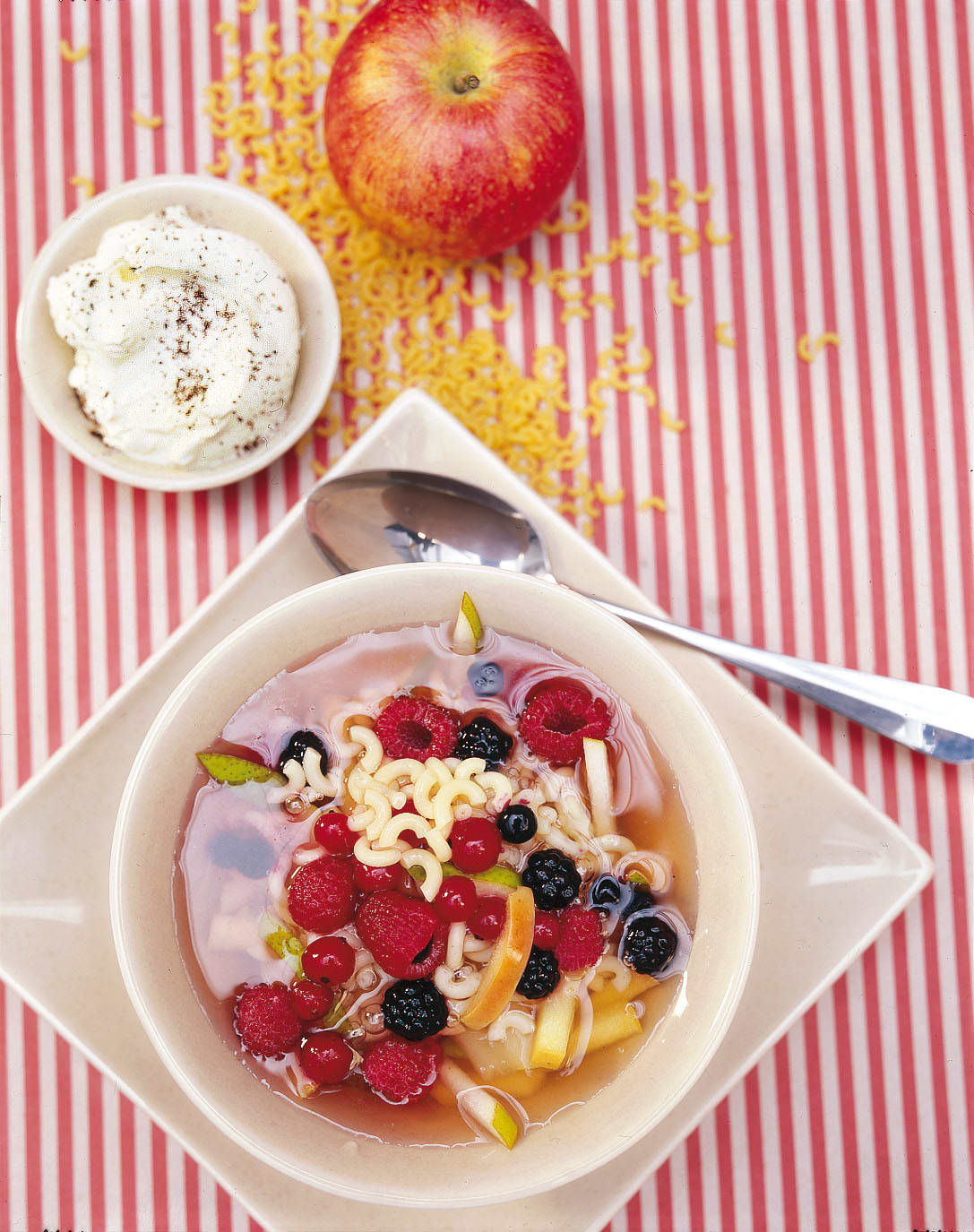Minestrone aux fruits