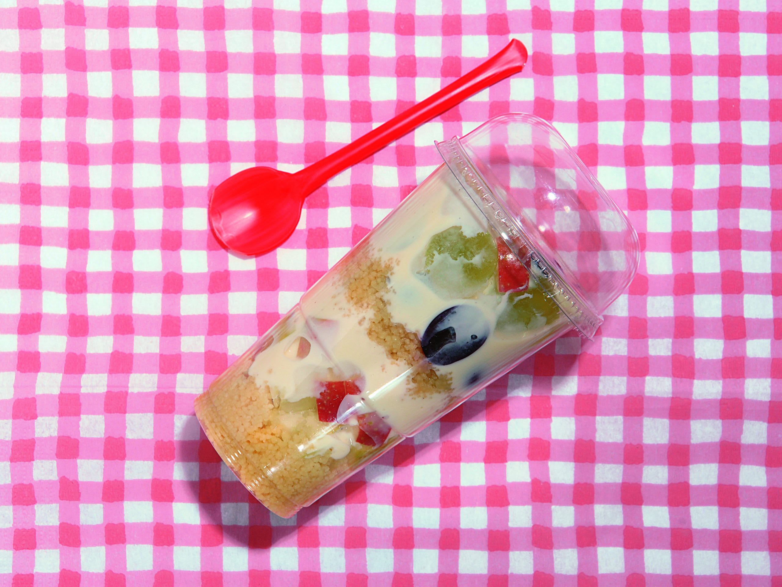 Früchte-Couscous to go