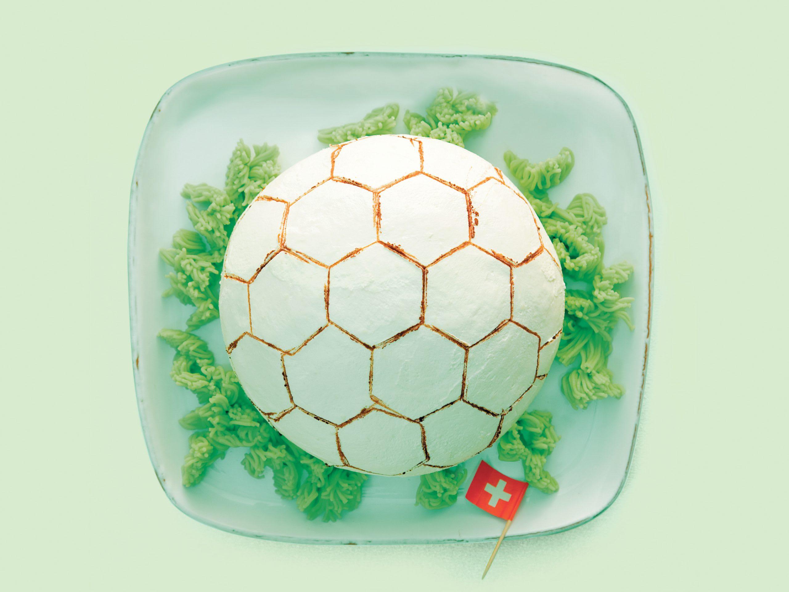 Fussballtorte Rezept Swissmilk