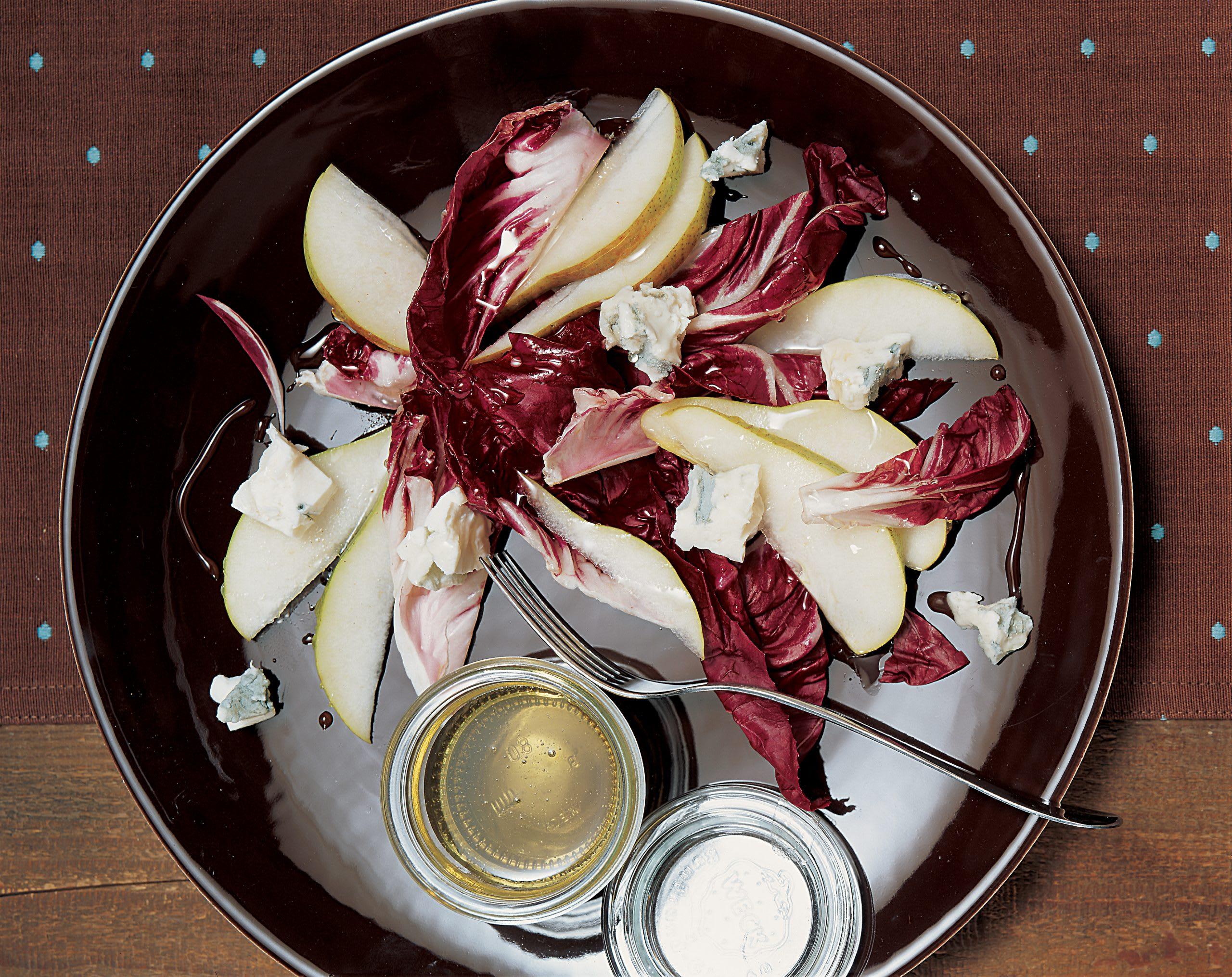 Salade de Trévise garnie