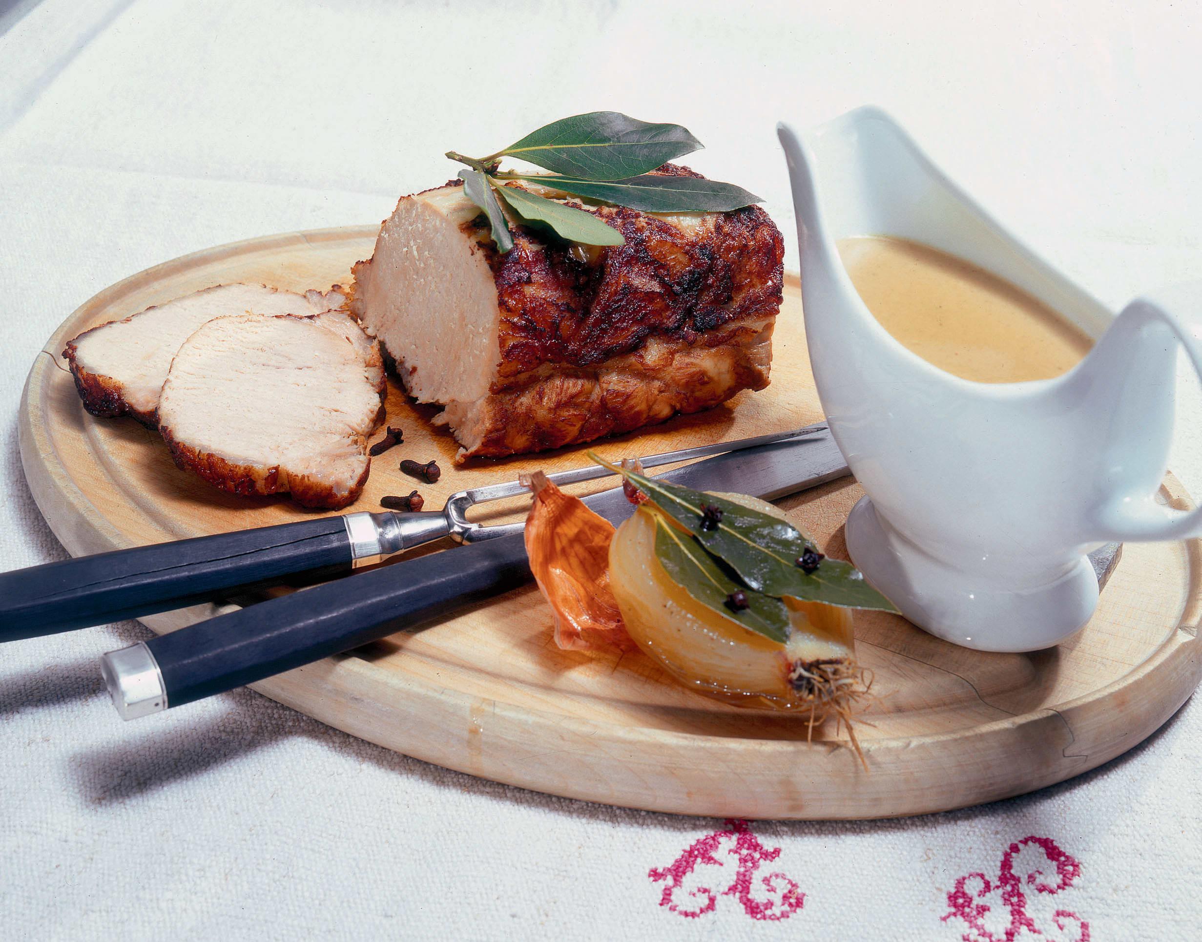 Rôti de porc mariné Recette de famille argovienne