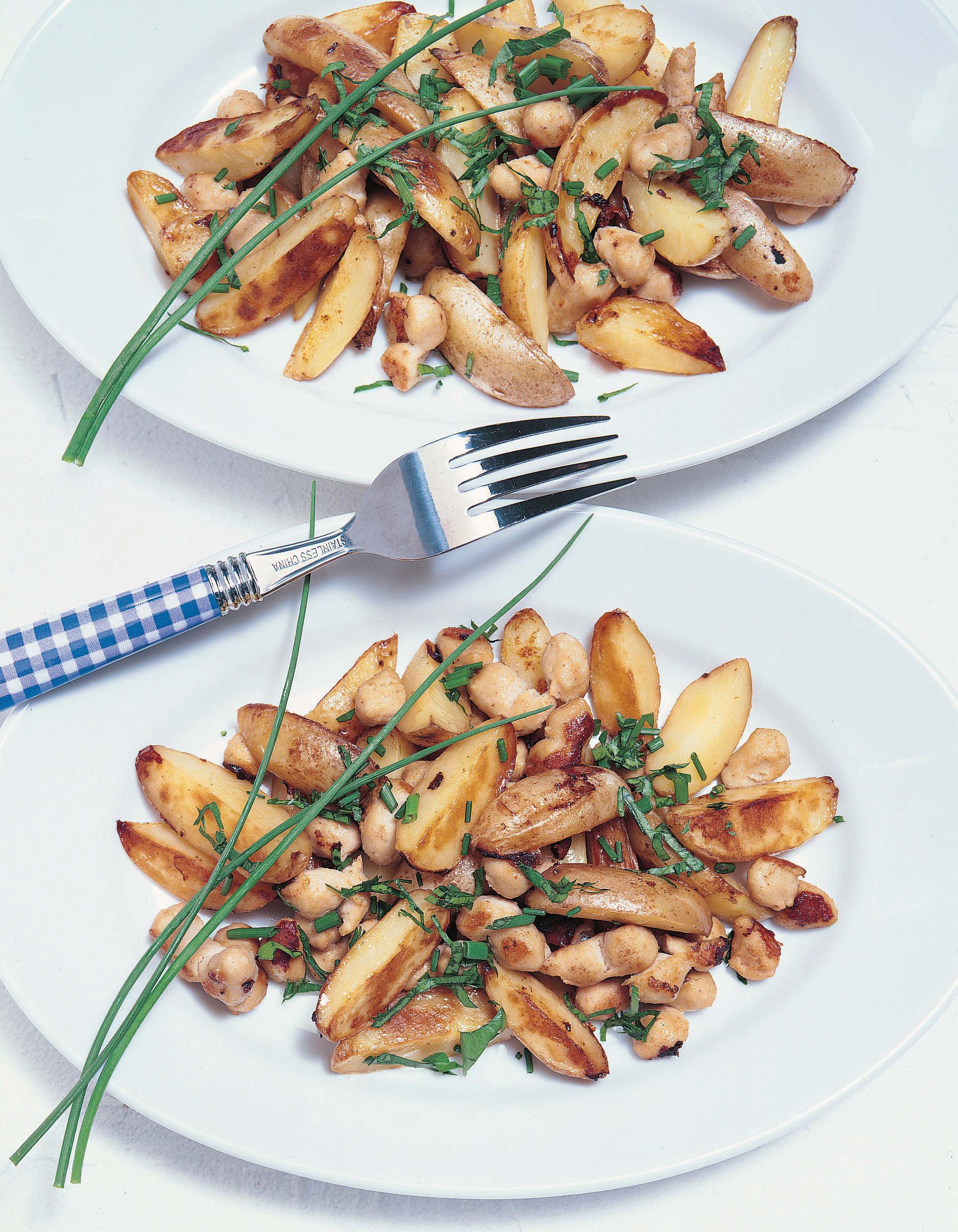 Gebratene neue Kartoffeln mit Kräutern