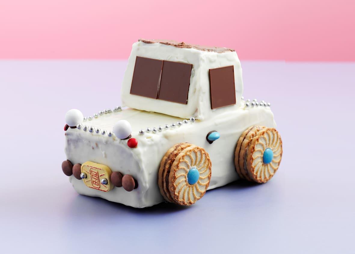 Gâteau d'anniversaire voiture