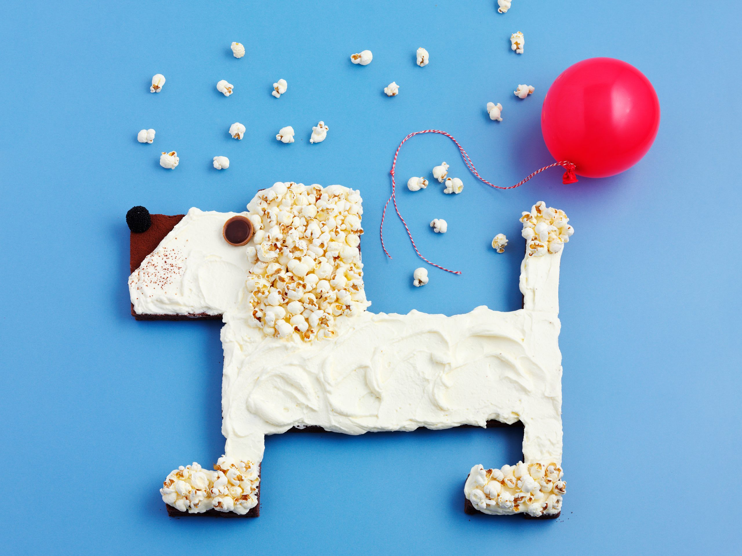Gâteau d'anniversaire chien