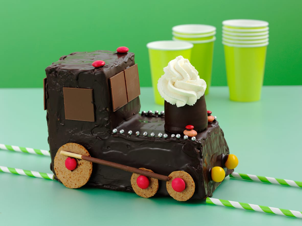 Geburtstagstorte Lokomotive