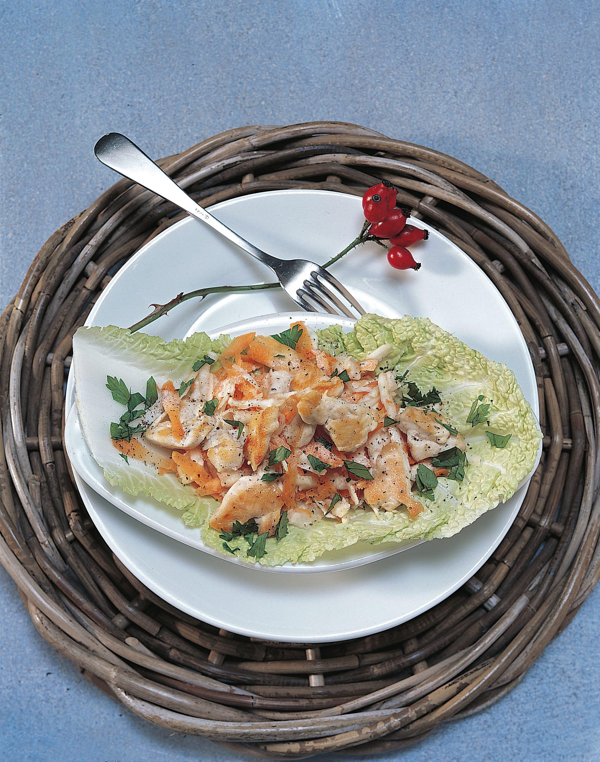 Geflügel-Rüebli-Salat