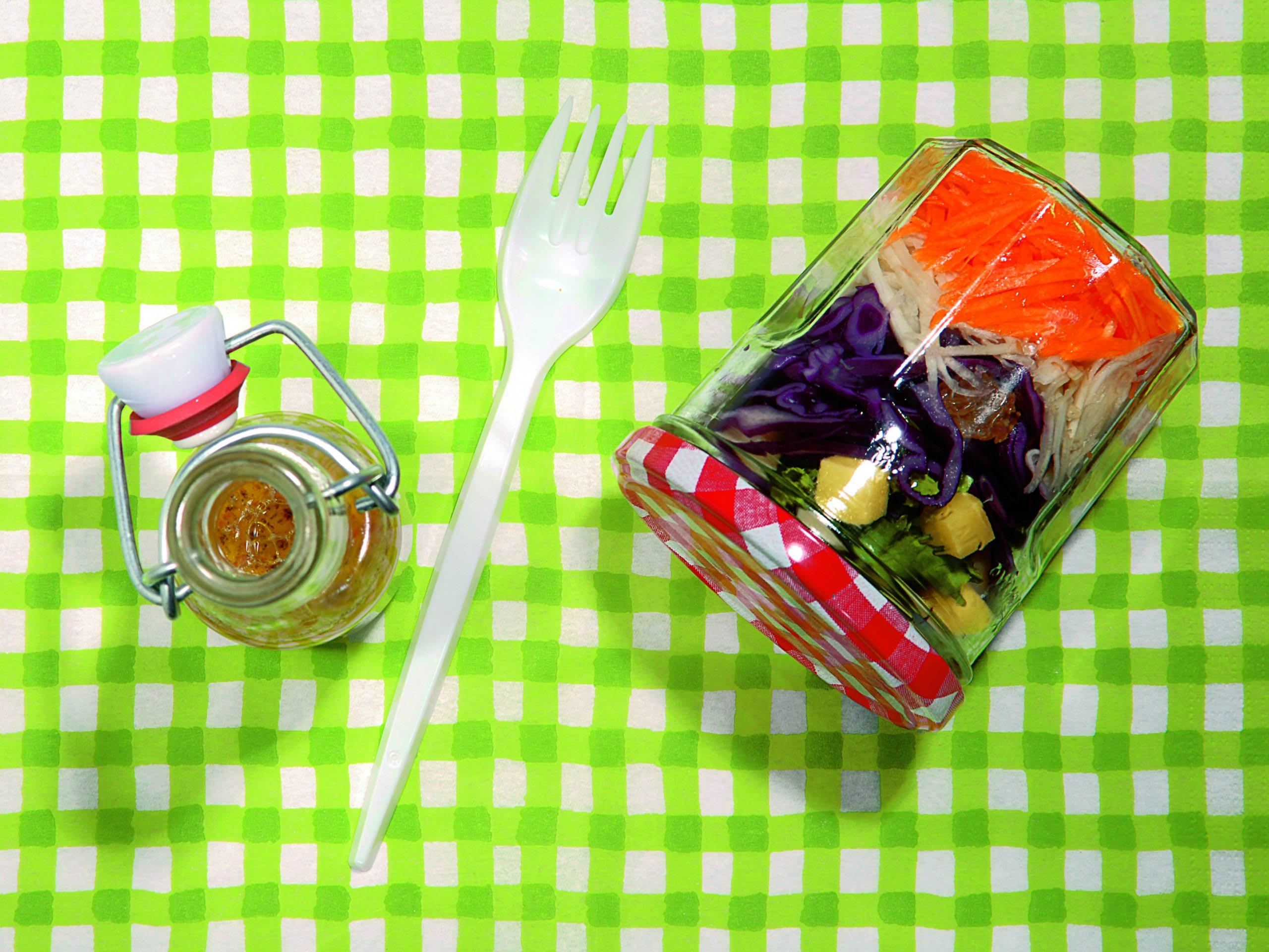Salade mêlée à emporter