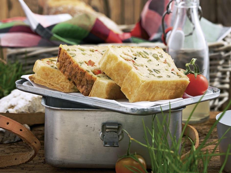 Gemüse-Couscous-Schnitten
