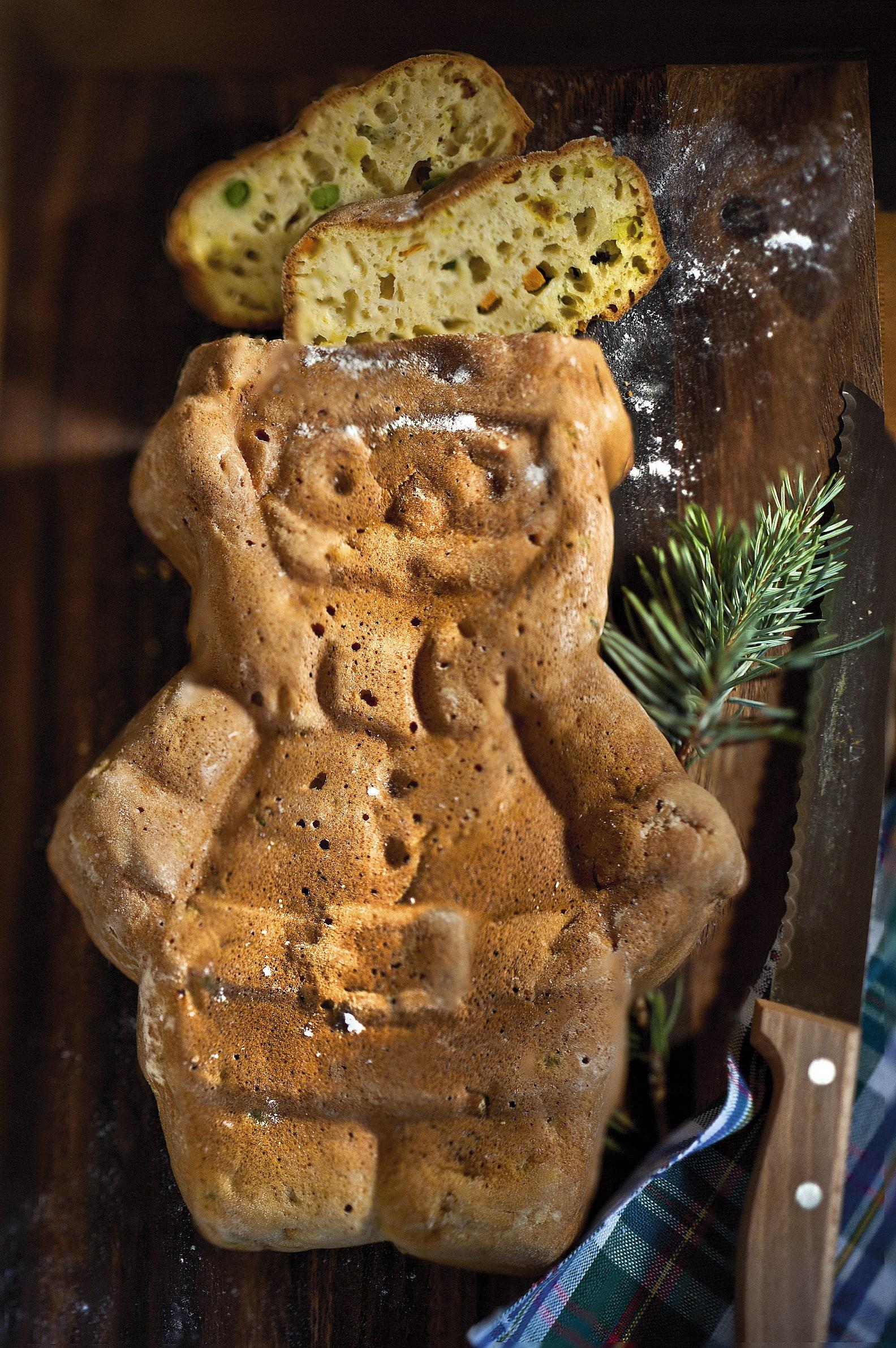 Père Noël aux légumes