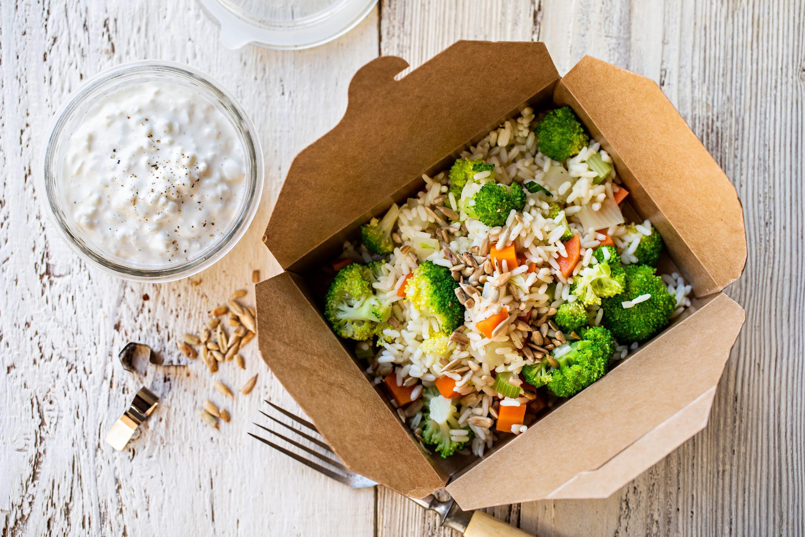 Gemüsereis-One-Pot mit Dip