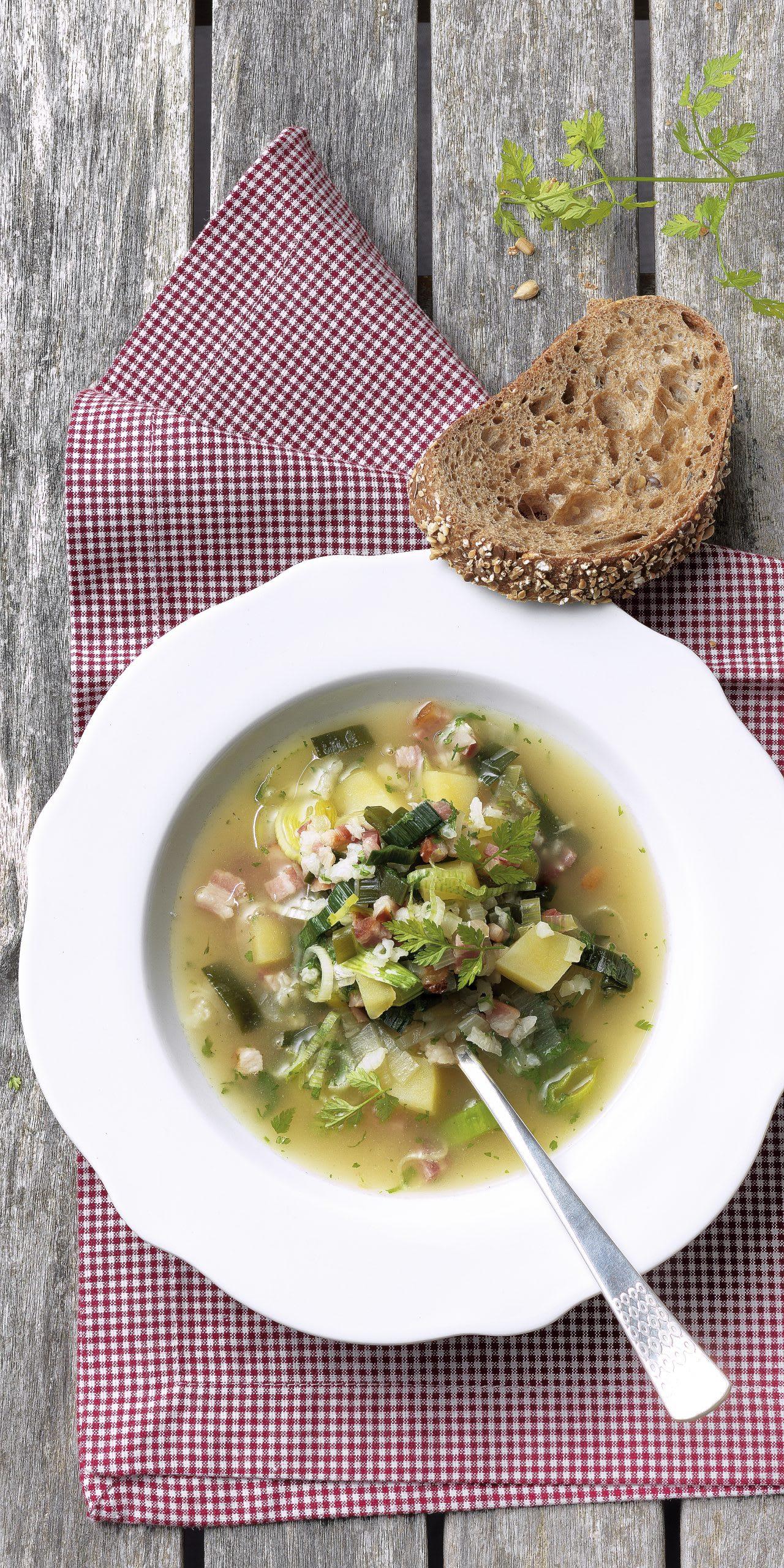 Soupe de l'Escalade (soupe de la Mère Royaume)