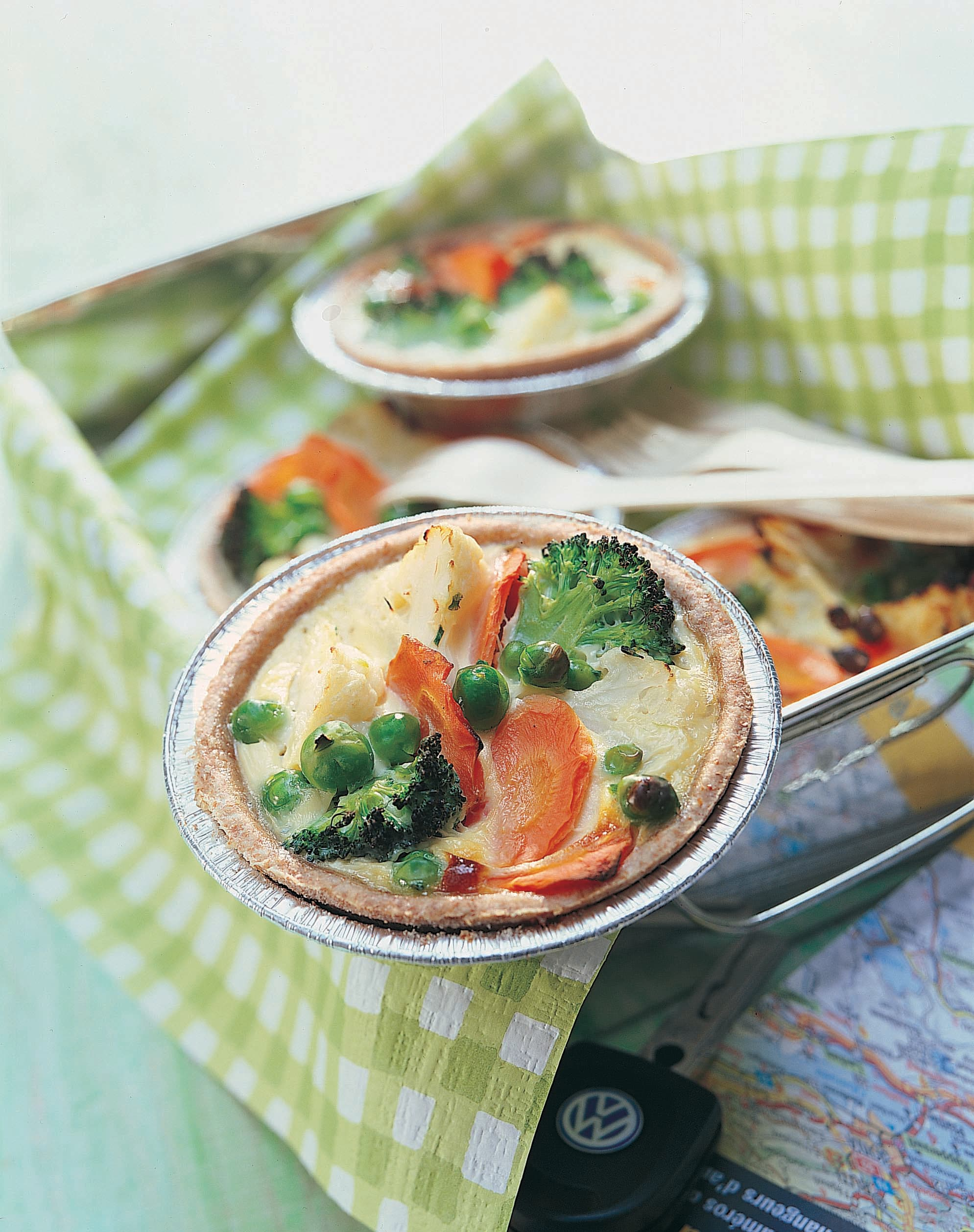 Tartelettes aux légumes