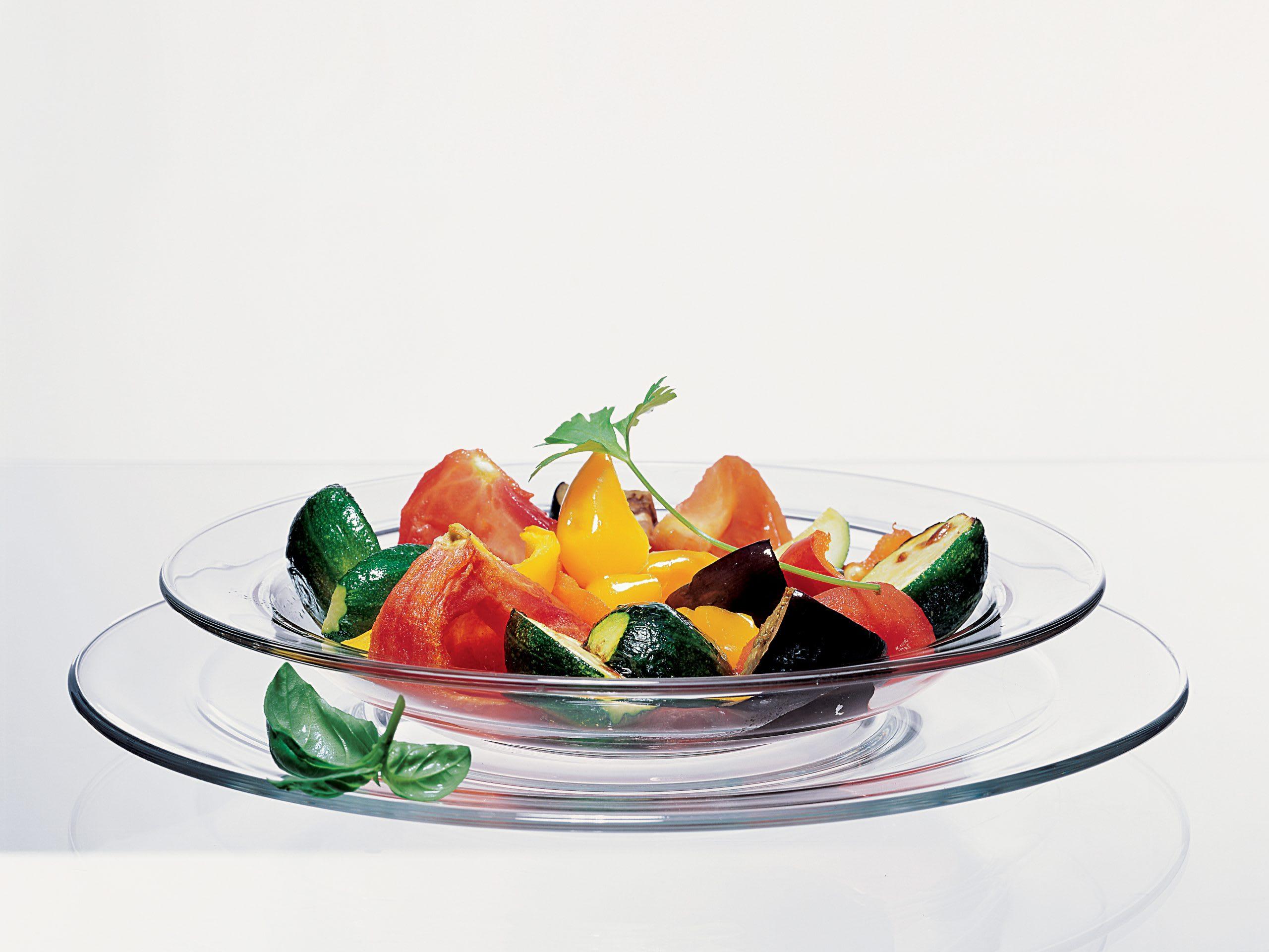 Gerösteter Spätsommer-Salat