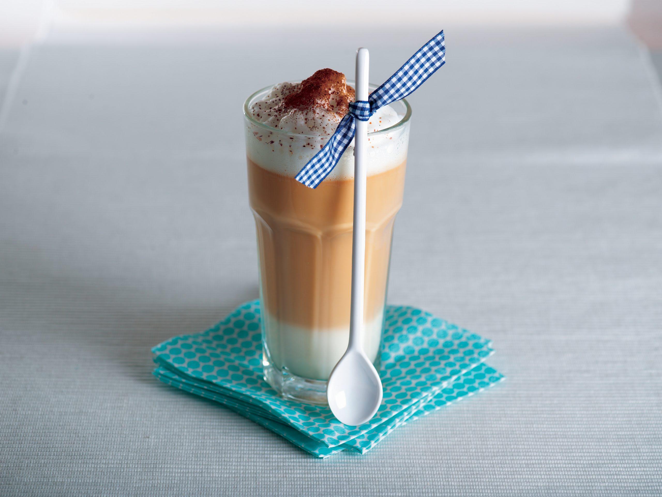 Gewürz-Latte-macchiato
